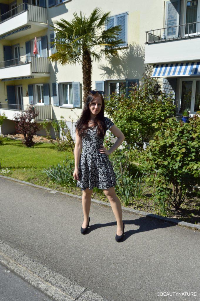 Outfit flower dress summer 1-min