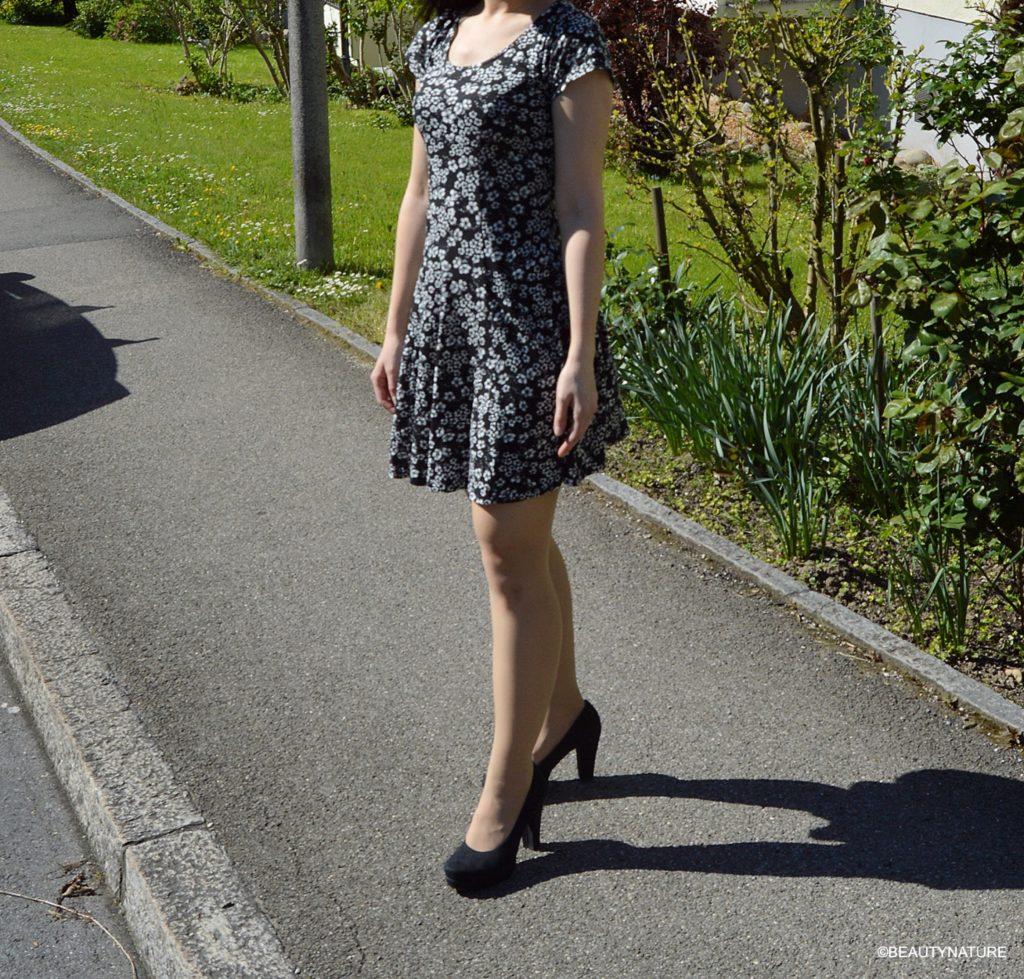 outfit dress flower body-min