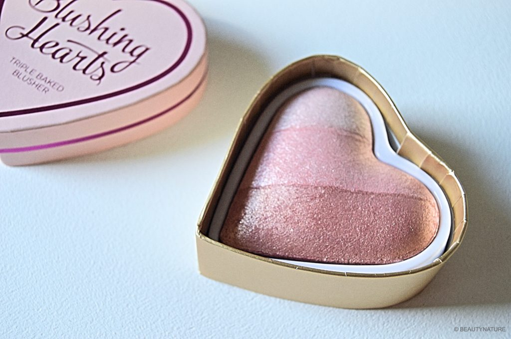 Blushing Hearts triple baked blusher iced hearts