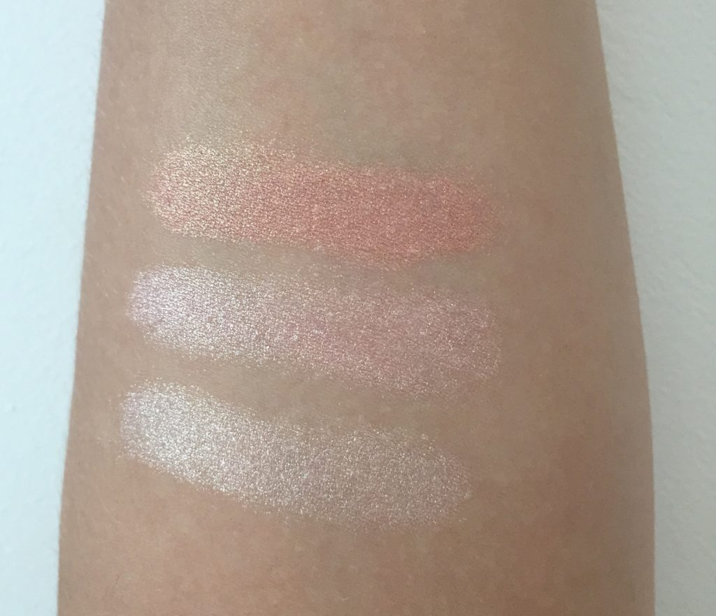swatches Blushing Hearts triple baked blusher iced hearts