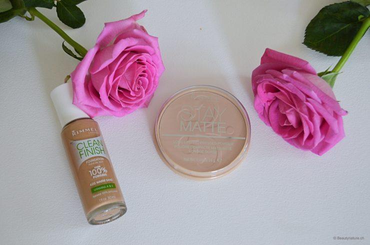 Rimmel - Clean Finish Foundation & Stay Matte Powder