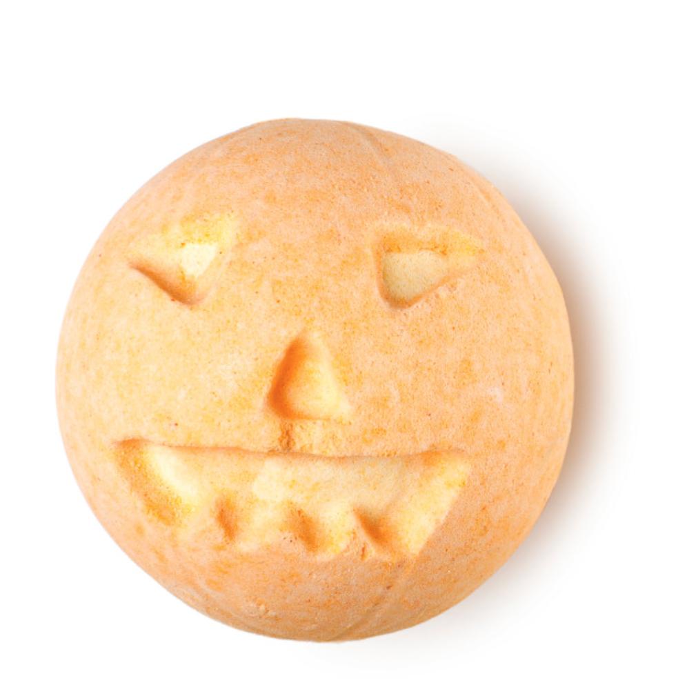 Pumpkin Badebombe Lush