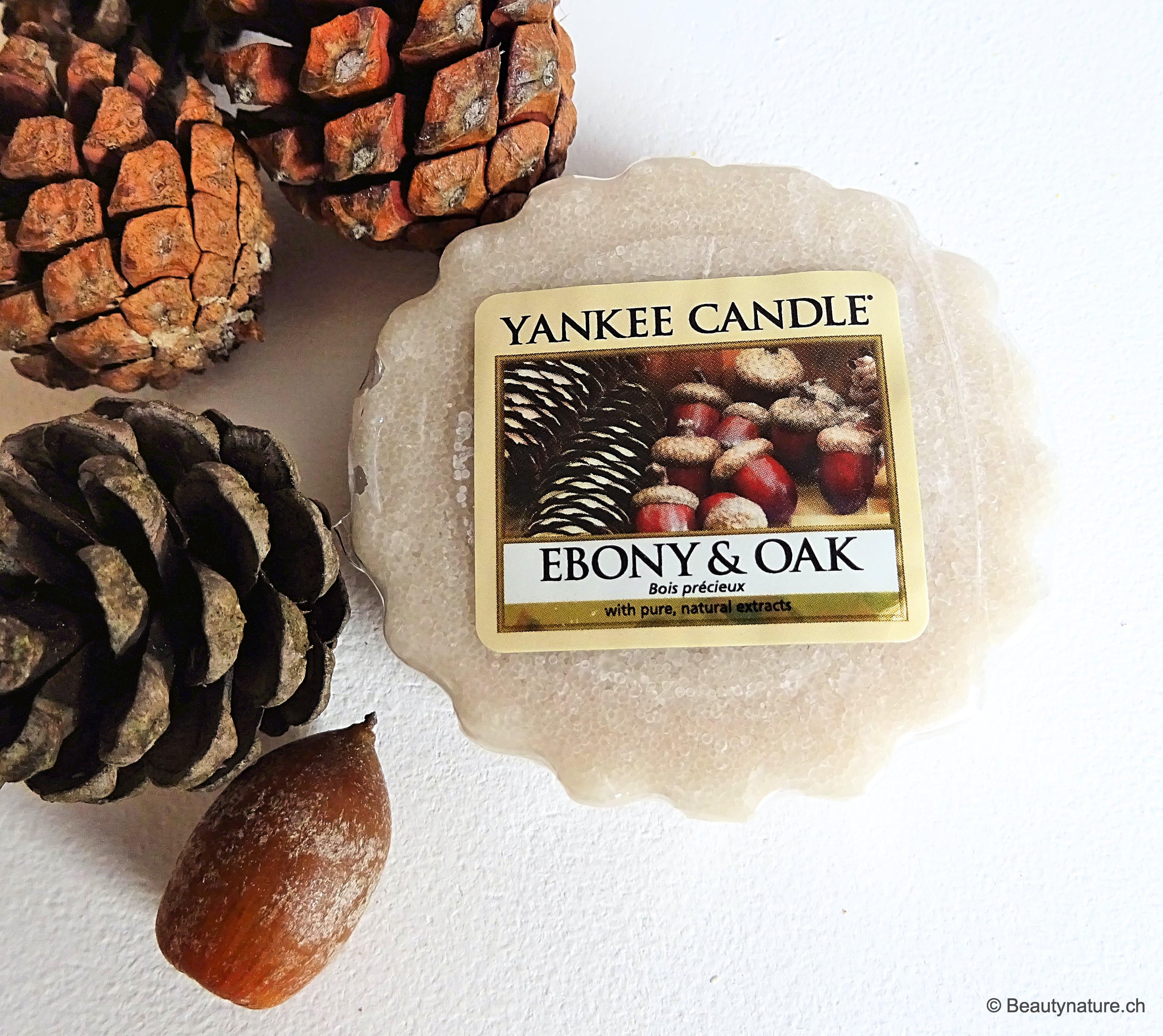 Yankee Candle - Ebony & Oak