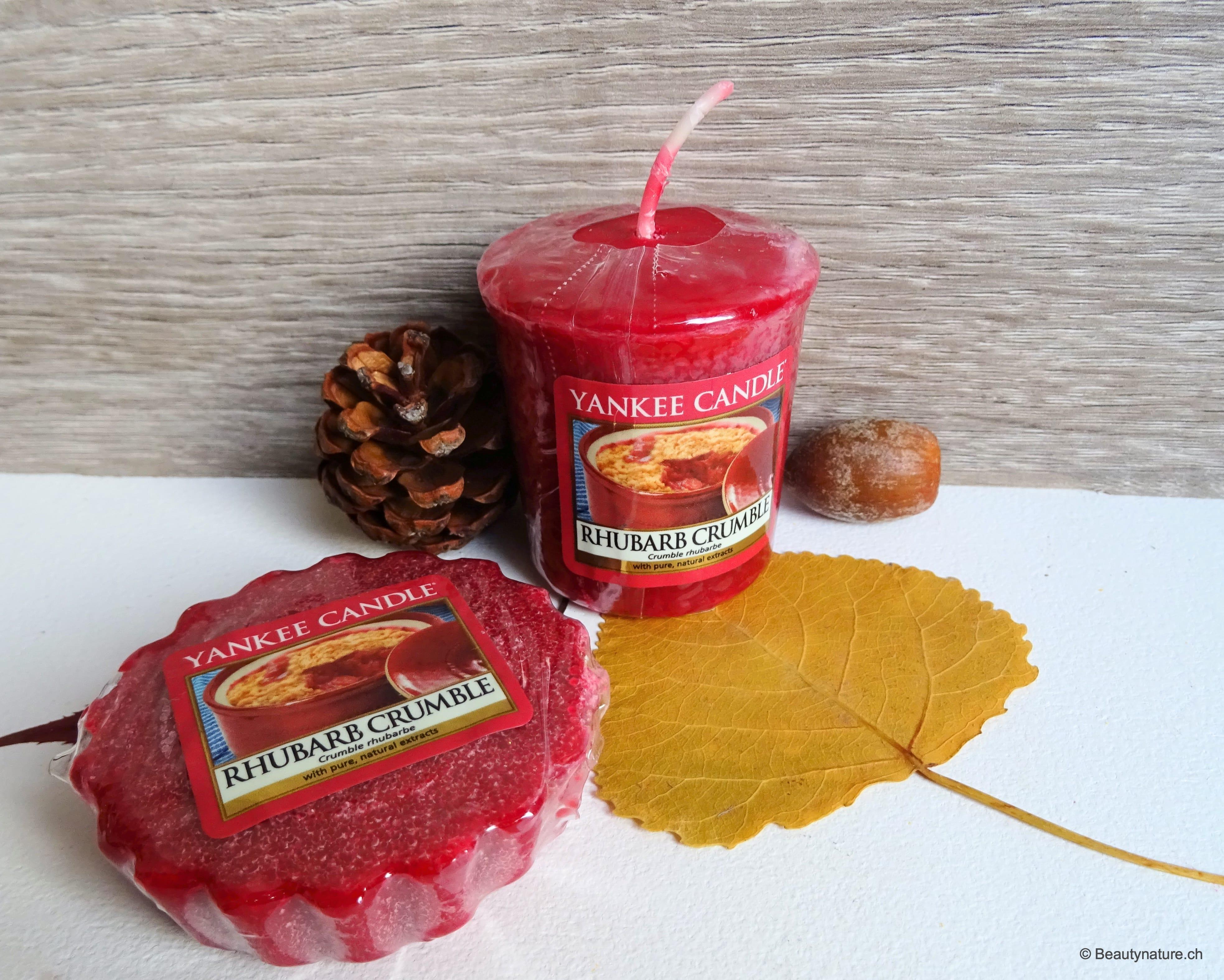 Yankee Candle - Rhubarb Crumble