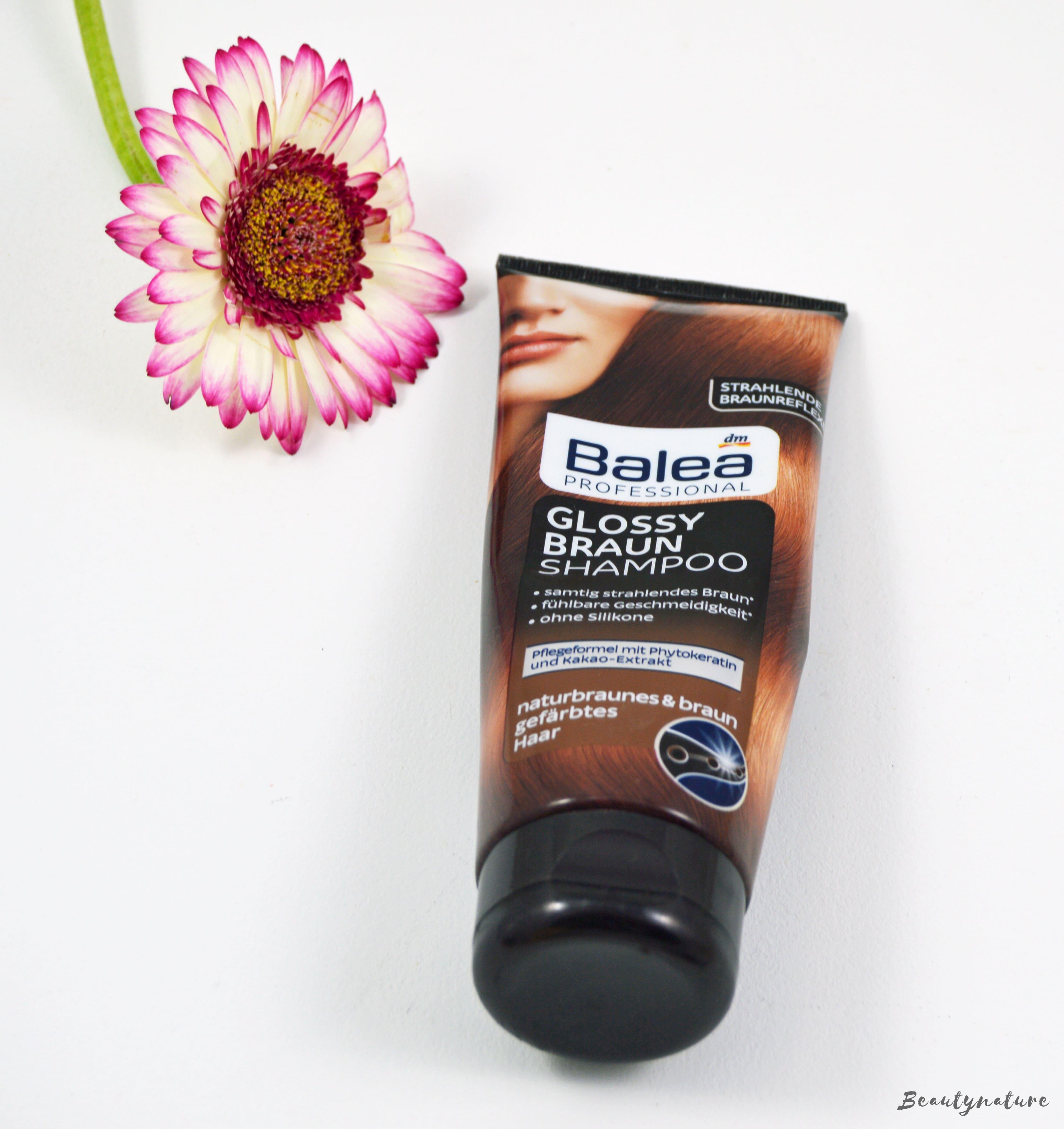 Balea Professional Glossy Braun Shampoo