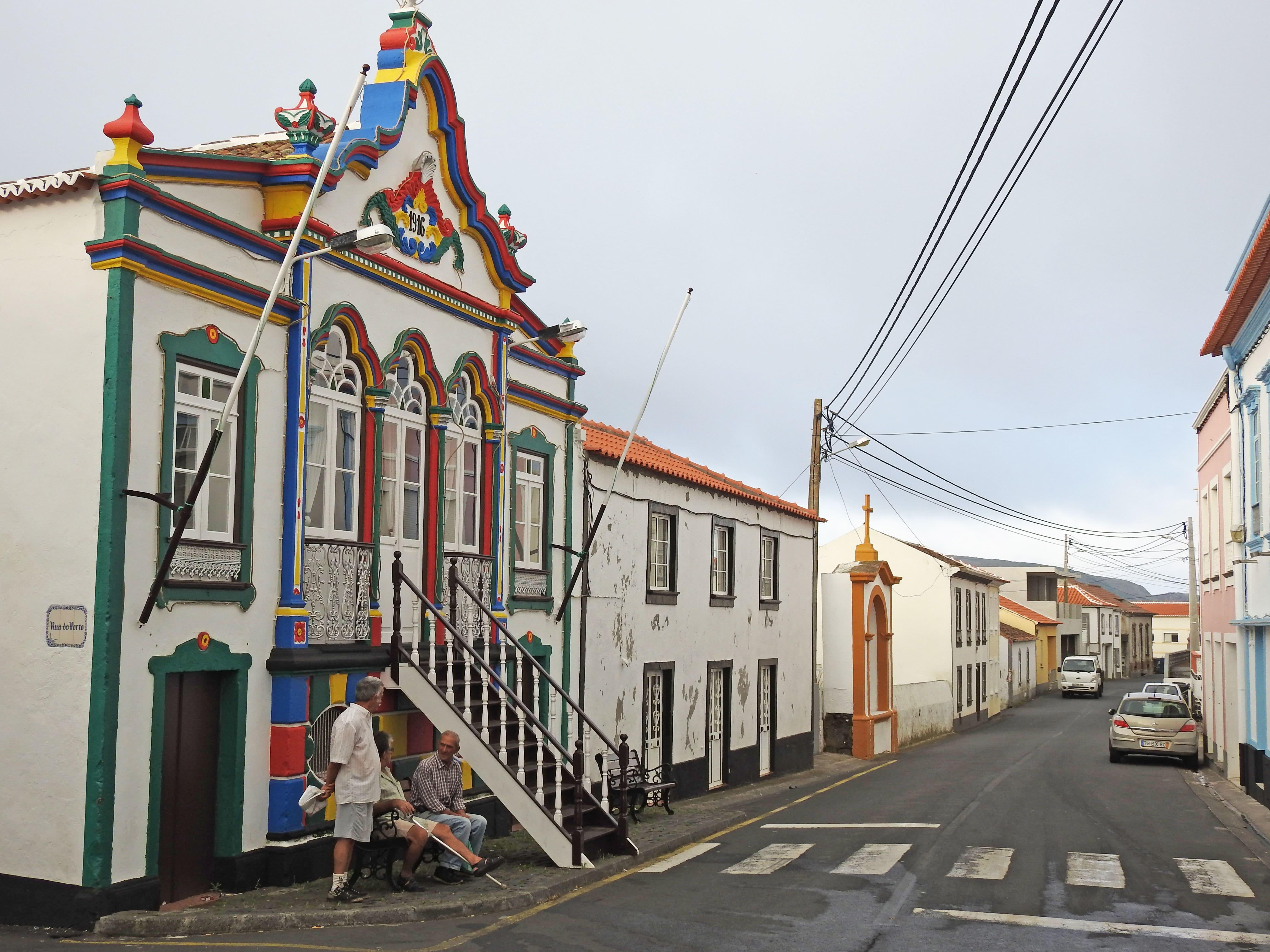 azoren Häuser