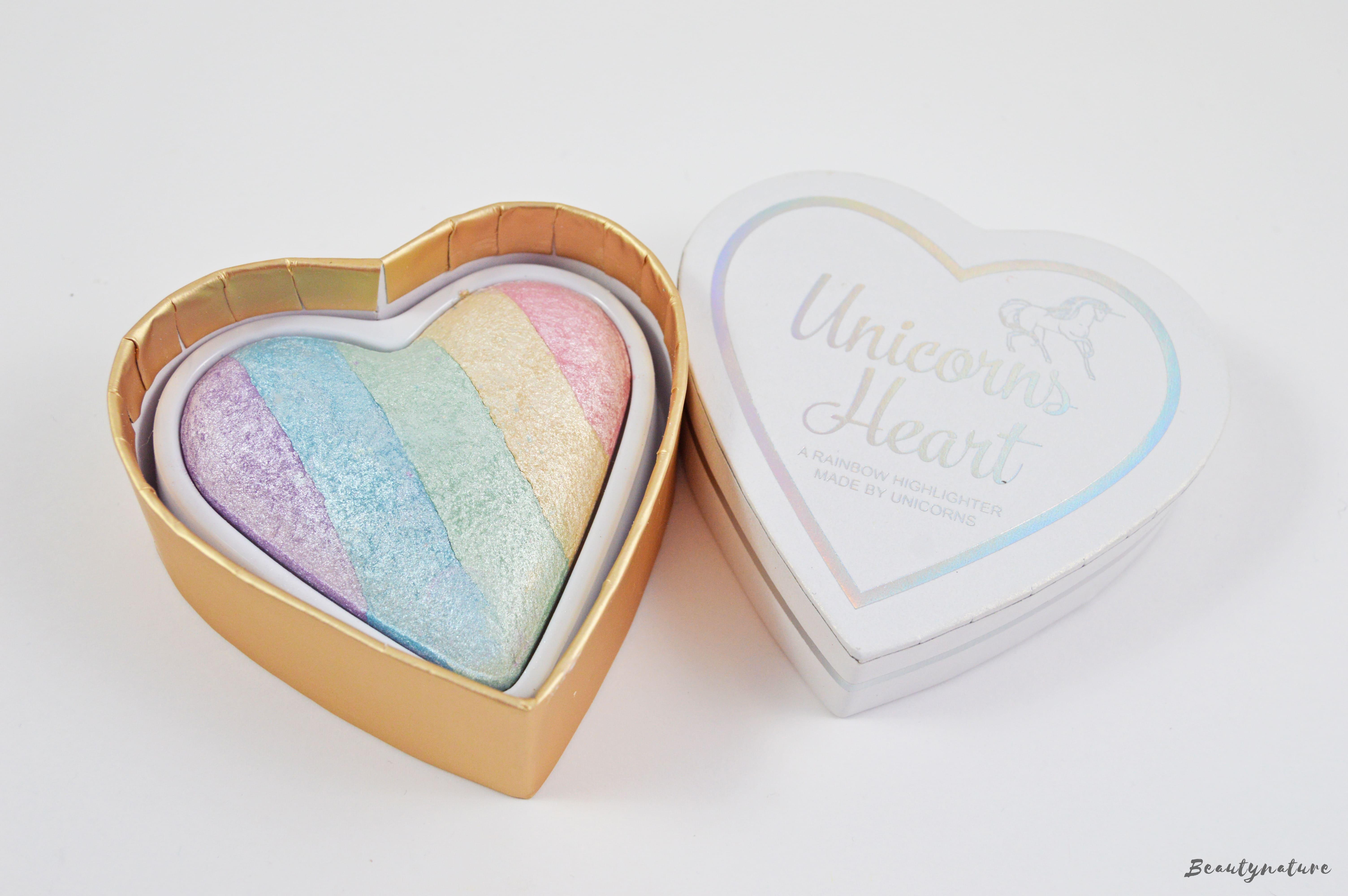 Unicorn Heart Highlighter I heart makeup