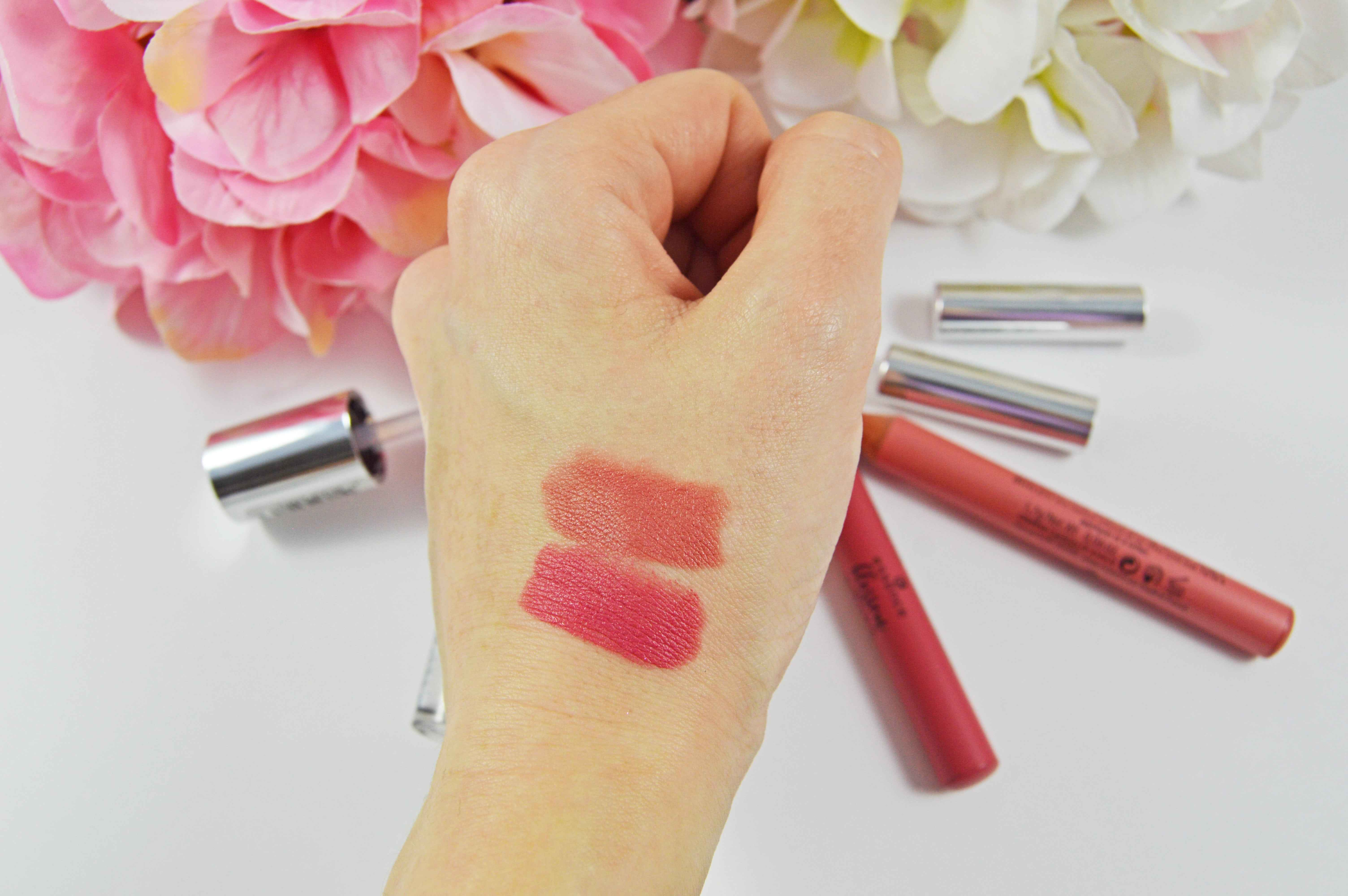 Essence blossom dreams lips swatches-min