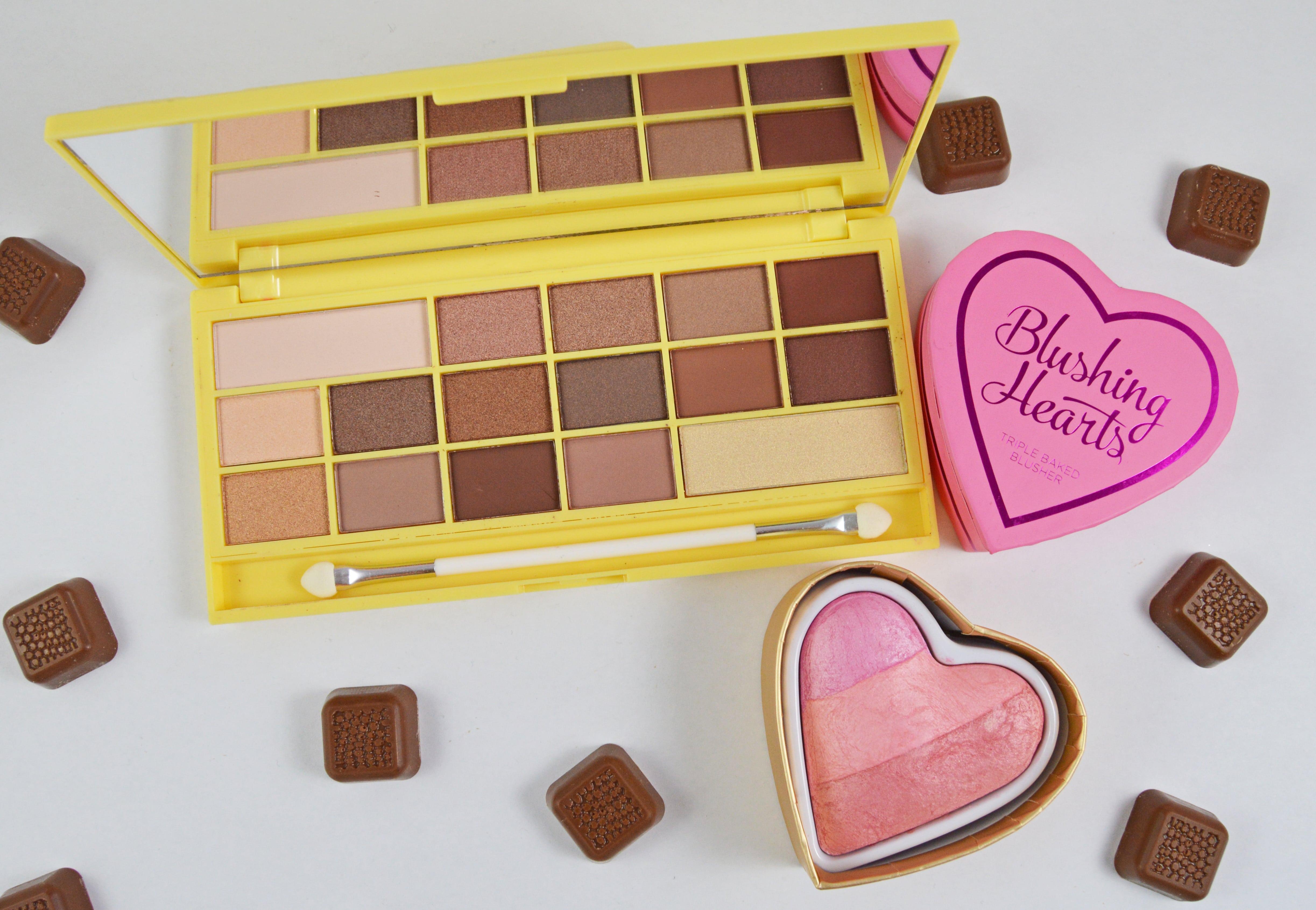 I Heart Make UP Naked Chocolate and Blushing Hearts-min