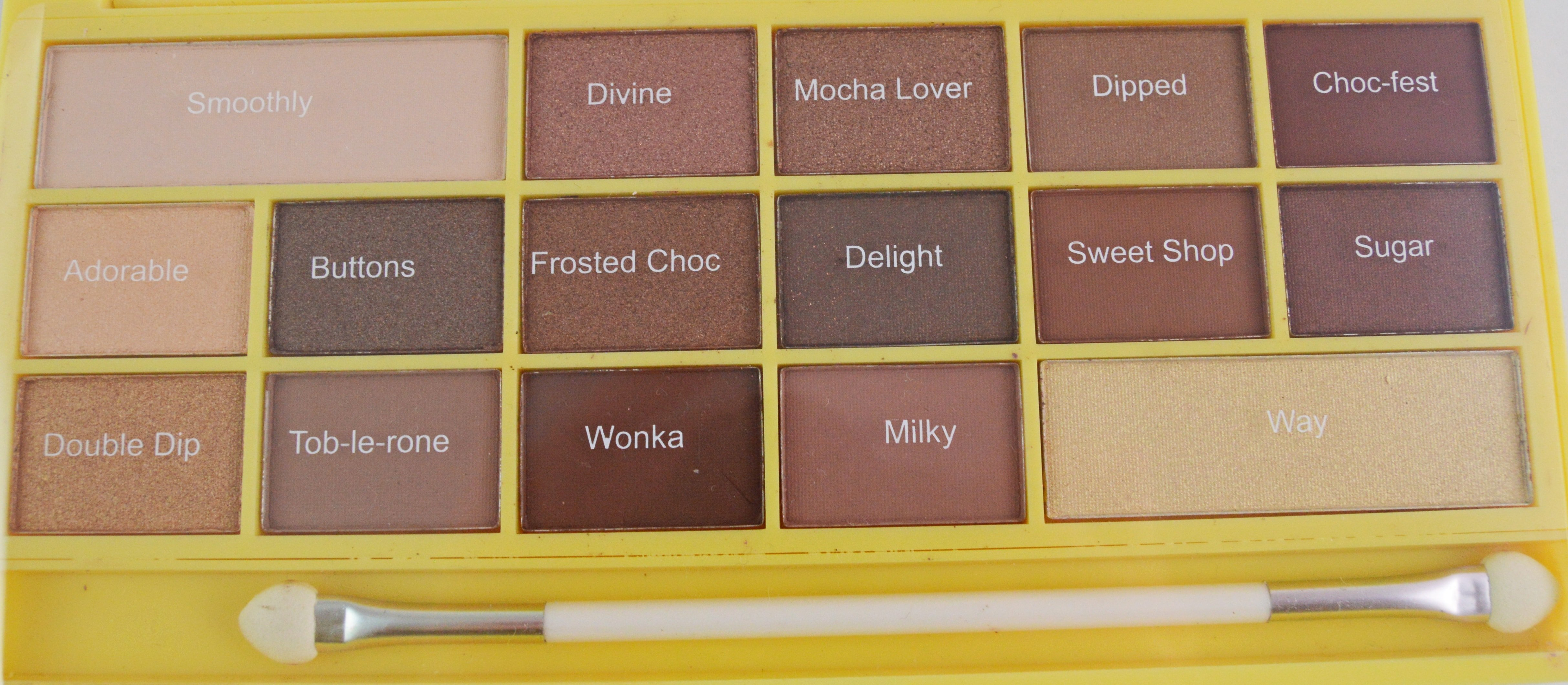 I Heart Make UP Naked Chocolate-min
