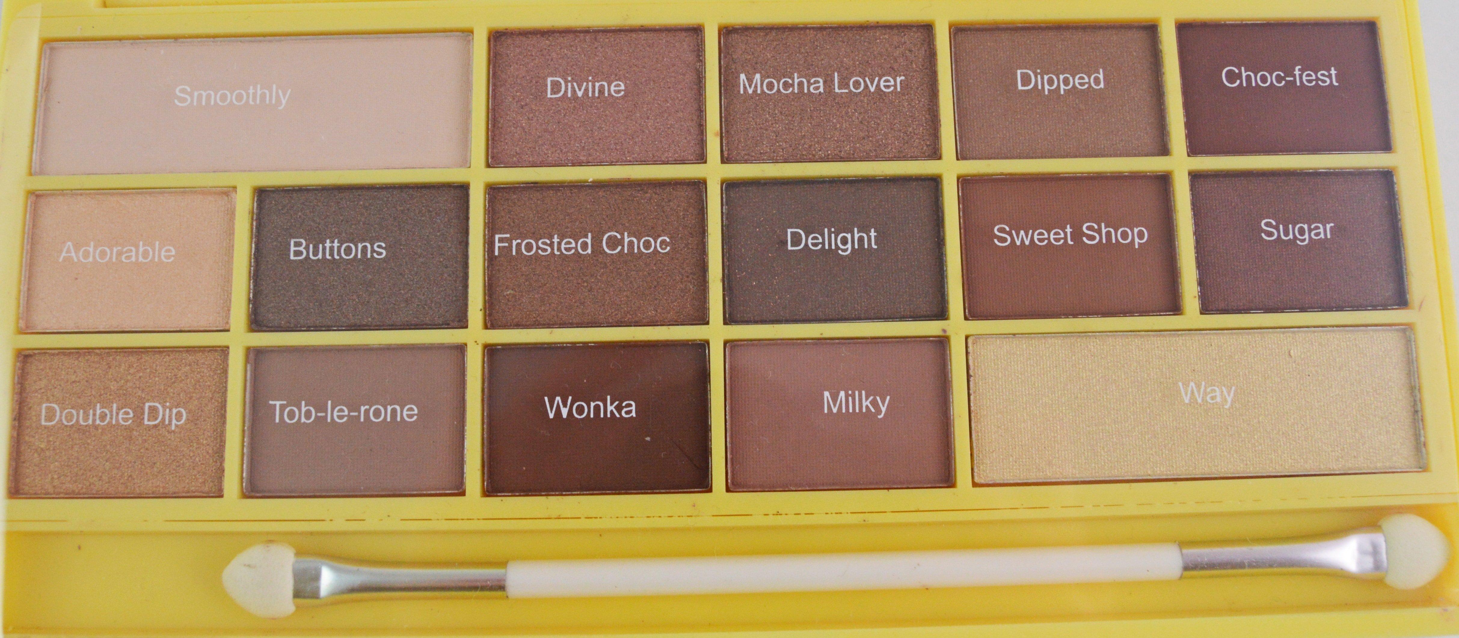 I Heart Make UP Naked Chocolate-min