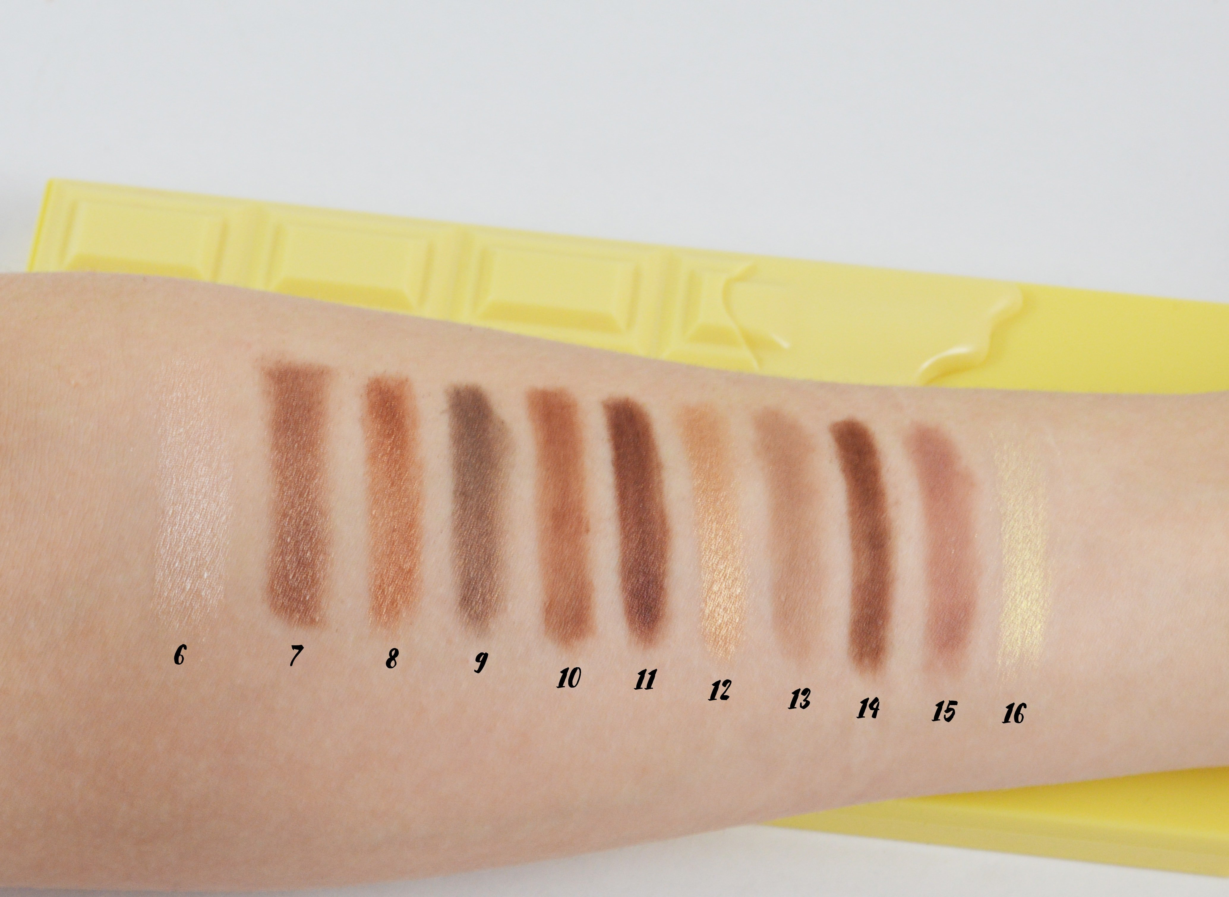 Swatches 2 I Heart Make UP Naked Chocolate-min