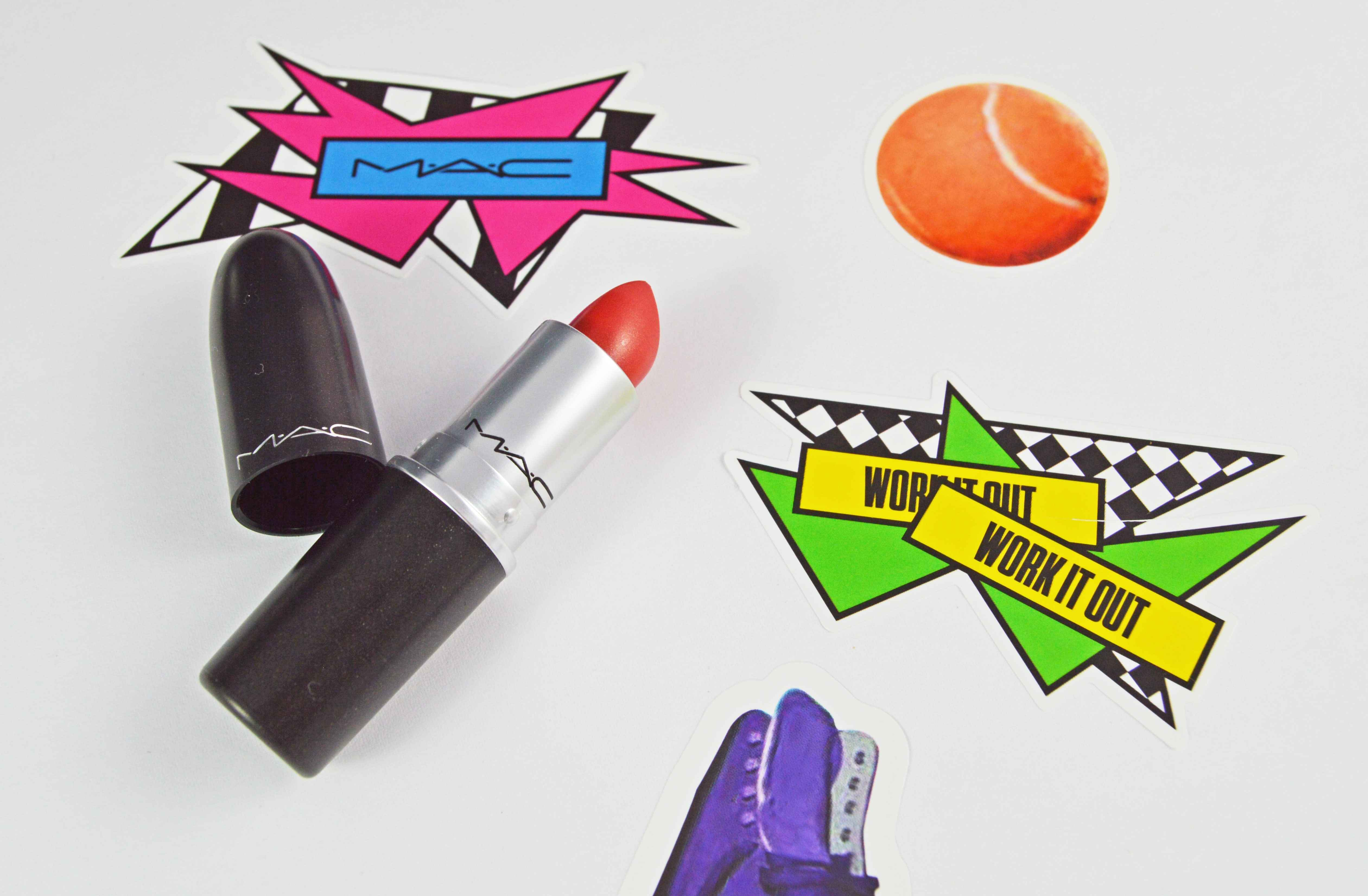 MAC - Work it out Lipstick Testosterone