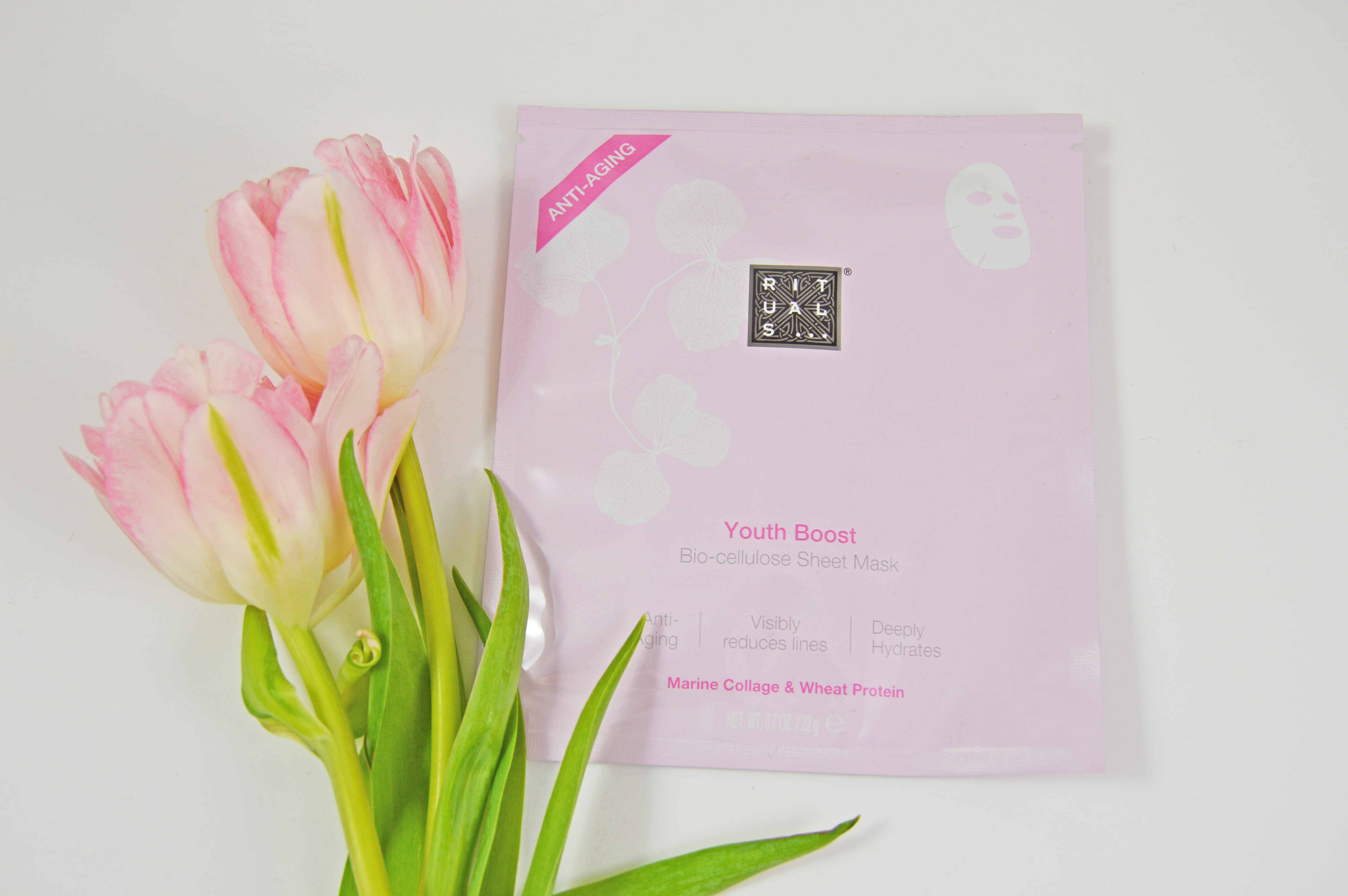 Rituals - YOUTH BOOST BIO-CELLULOSE SHEET MASK