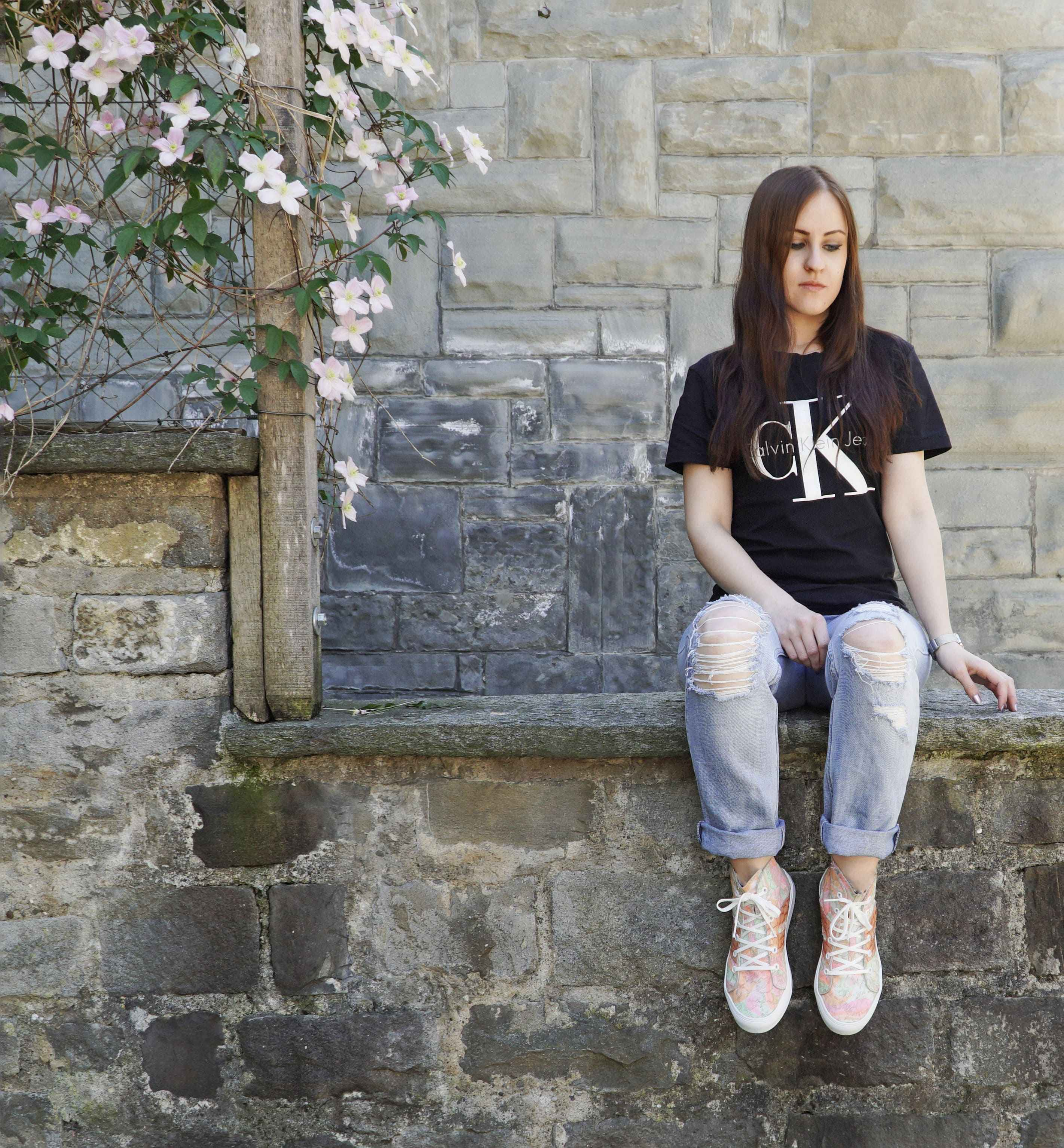 Statement Shirt Künzli high Sneakers