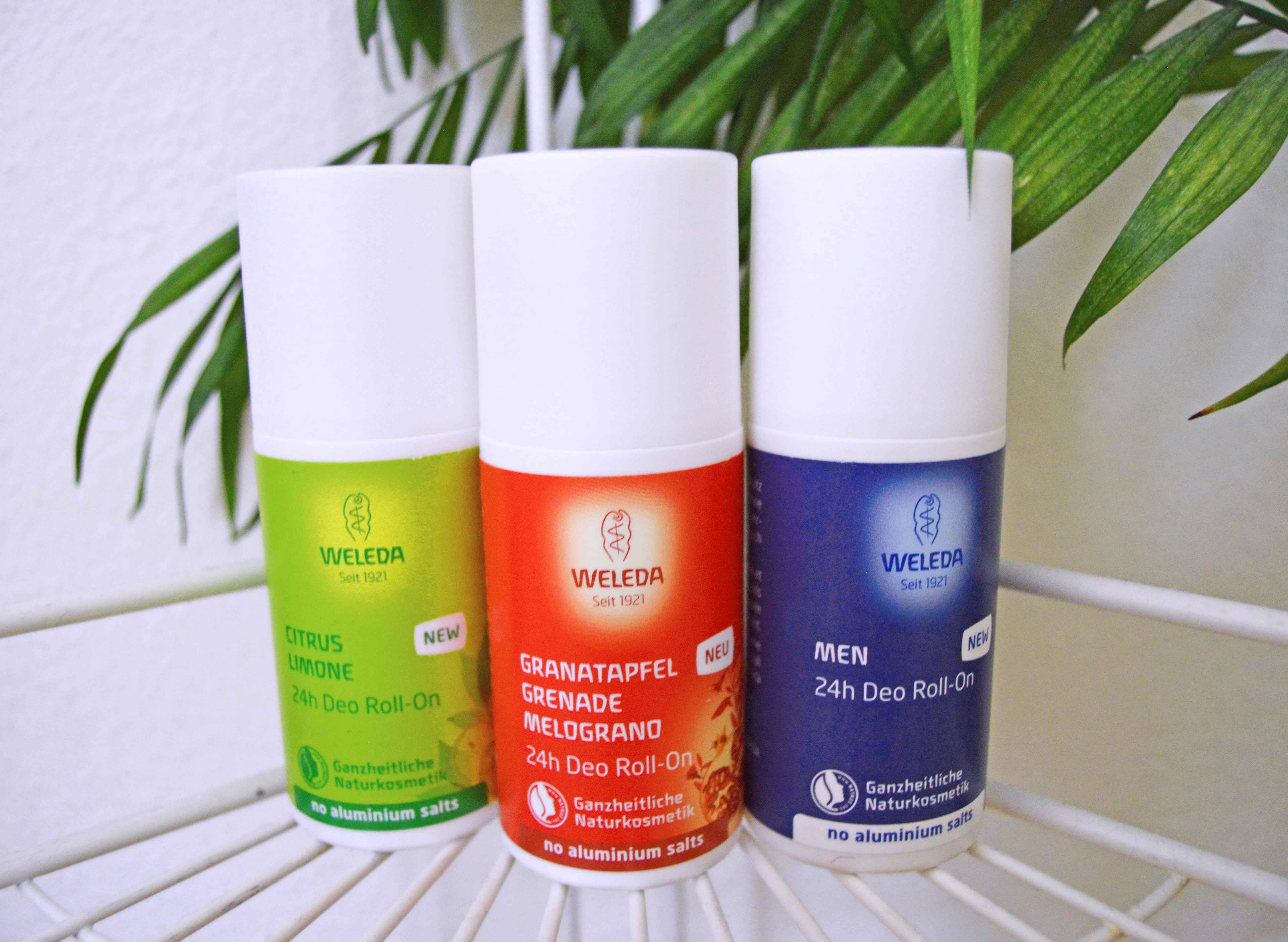 weleda Deodorants