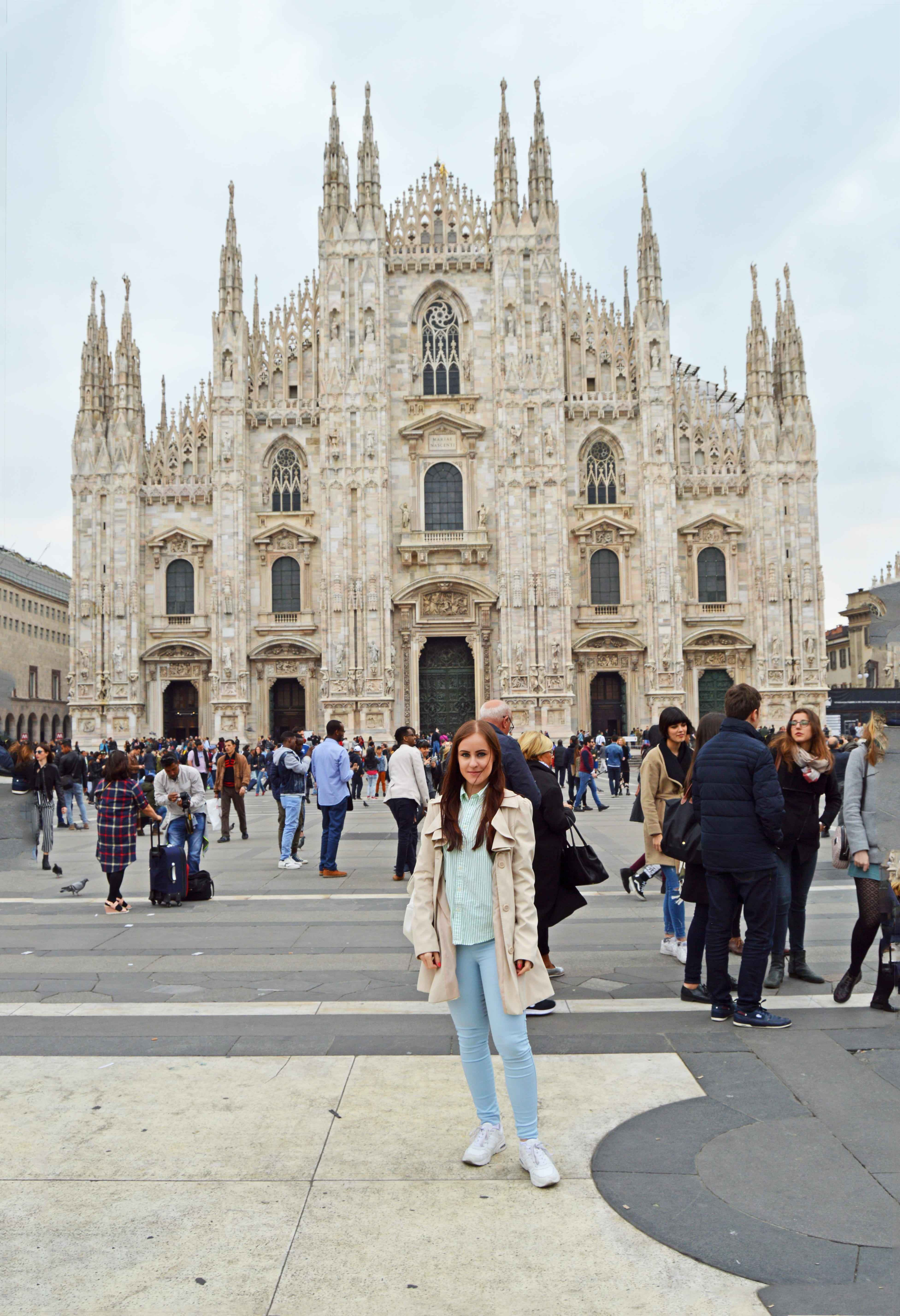 Milano One Time Duomo And Back The Chic Advocate