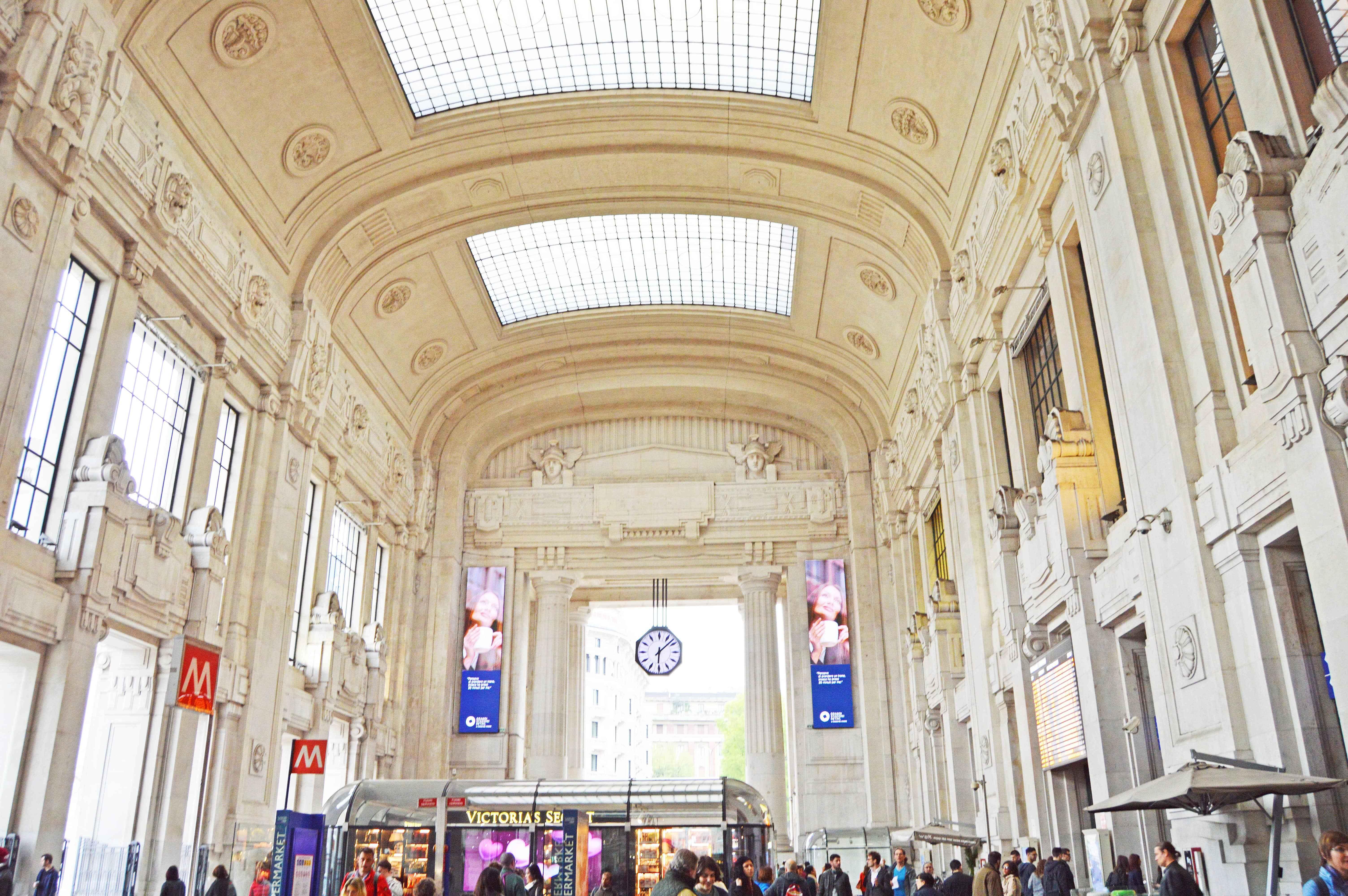 Mailand Milano Bahnhof