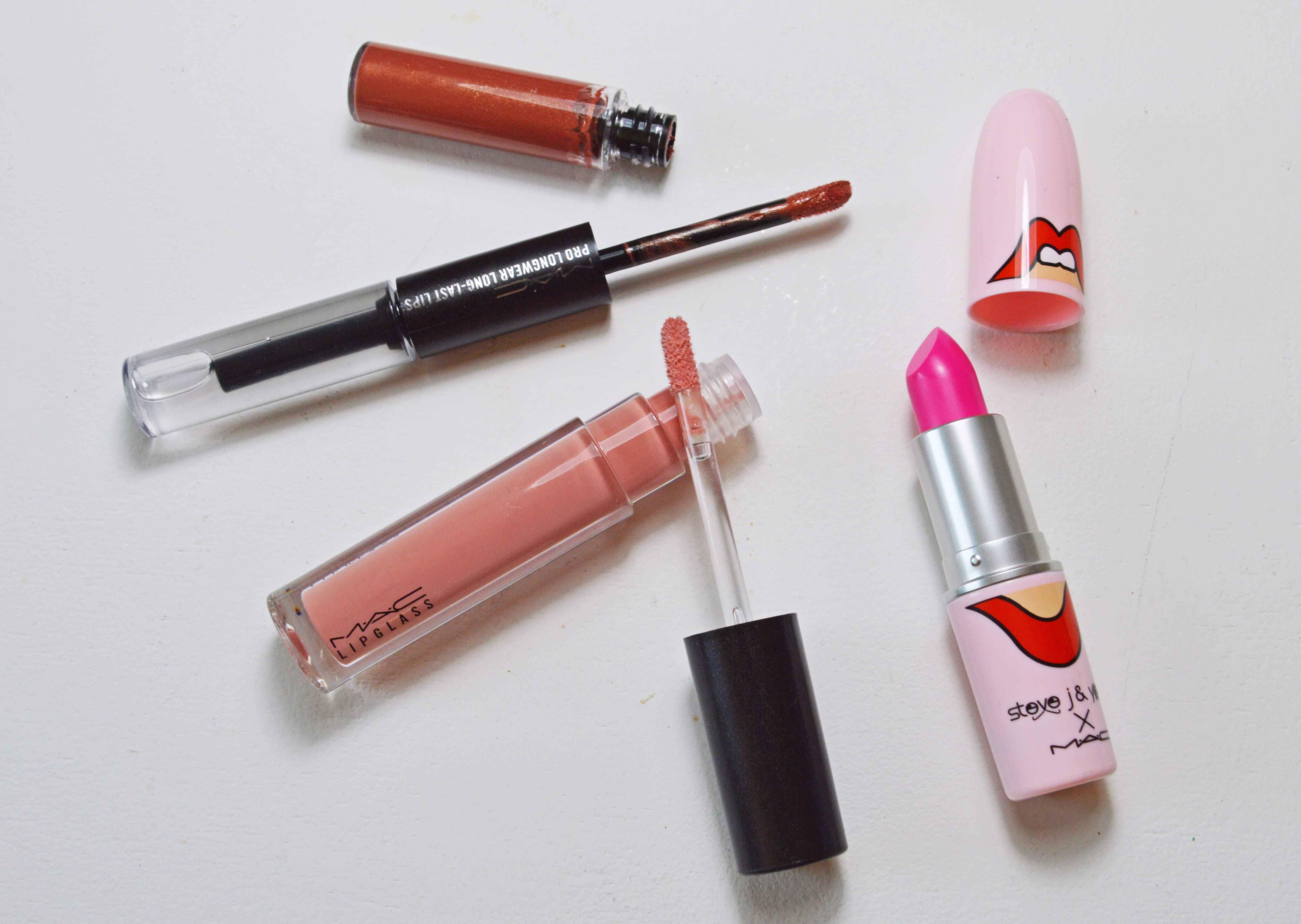 mac cosmetics lippenprodukte