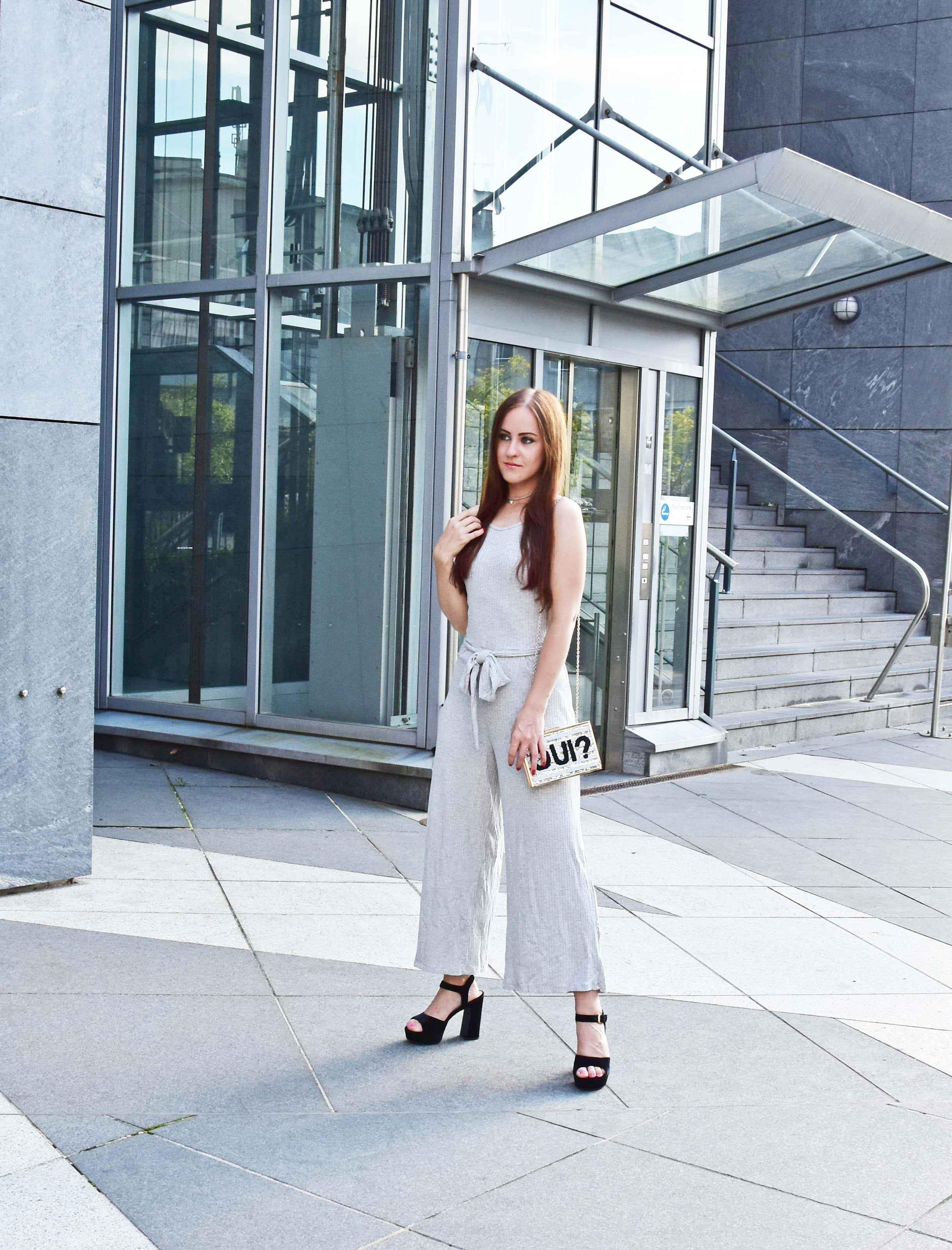 Jumpsuit Pull&Bear Look Fashionblogger