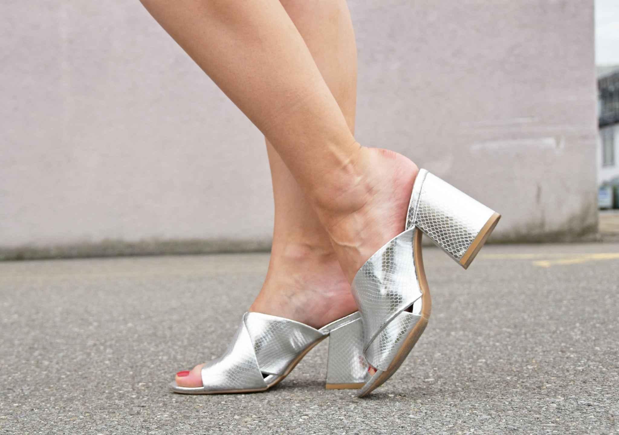 Silver Heels H&M