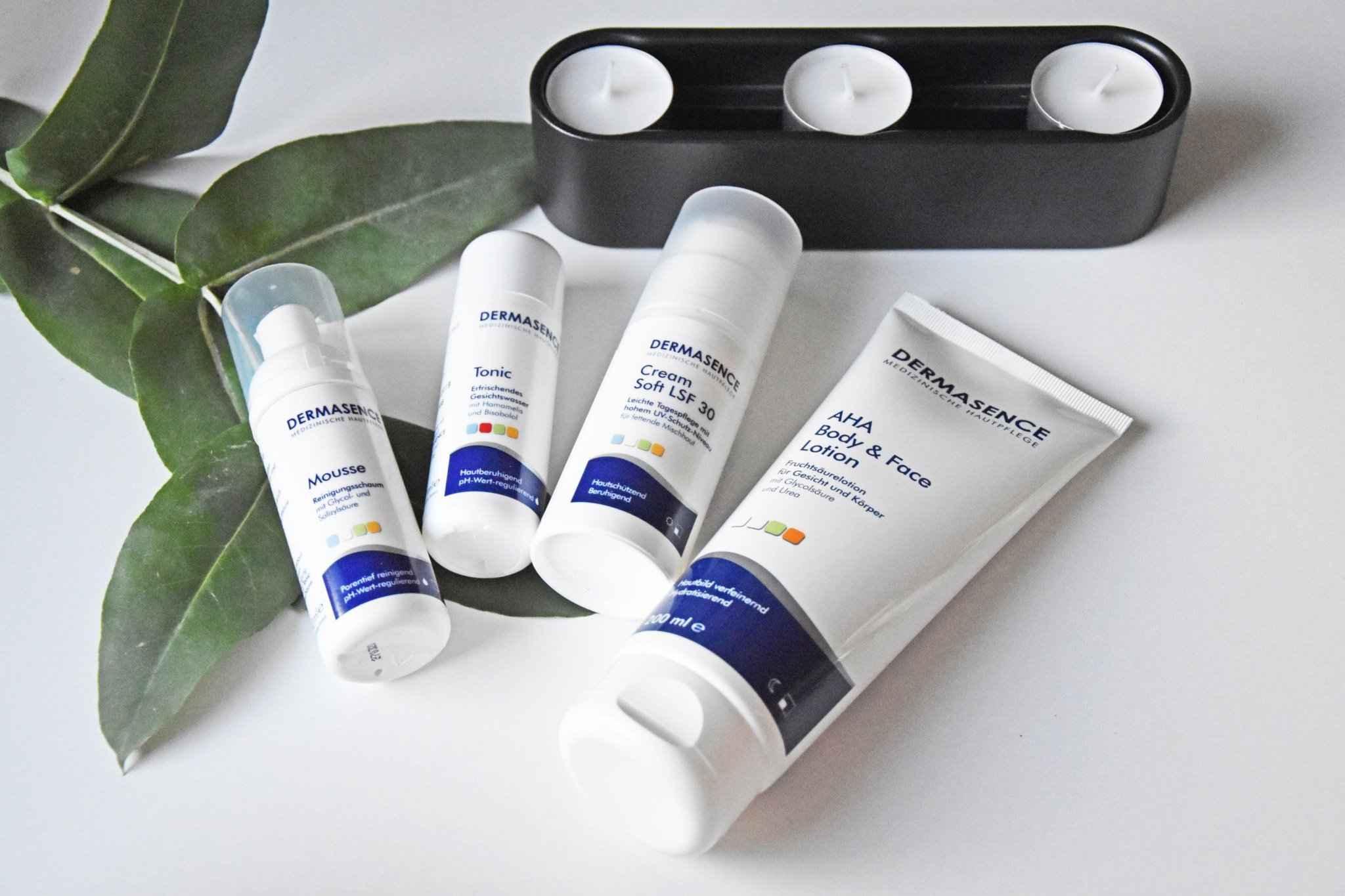 Dermasence - Mousse, Tonic,AHA Lotion &Cream Soft
