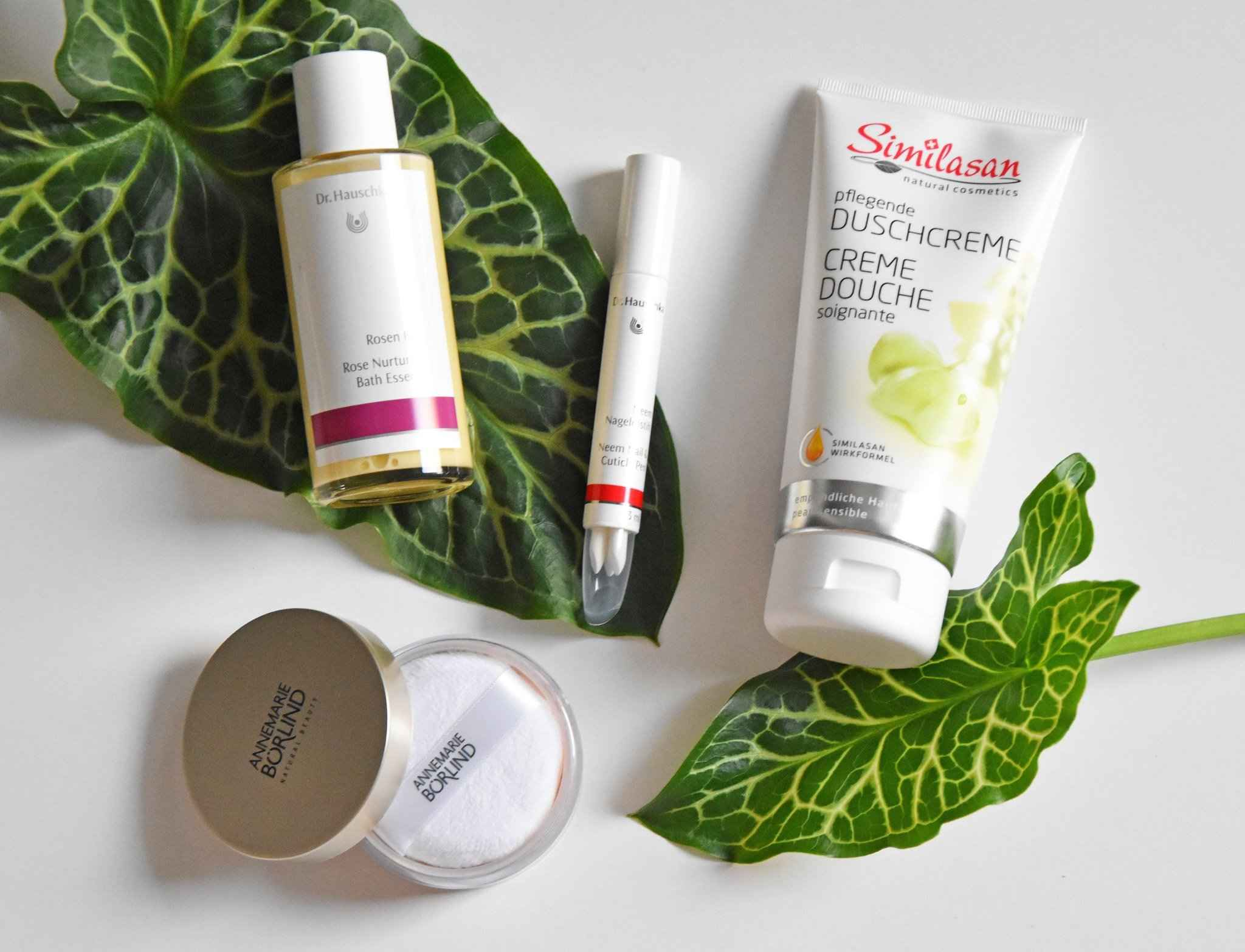 Naturkosmetik favoriten September