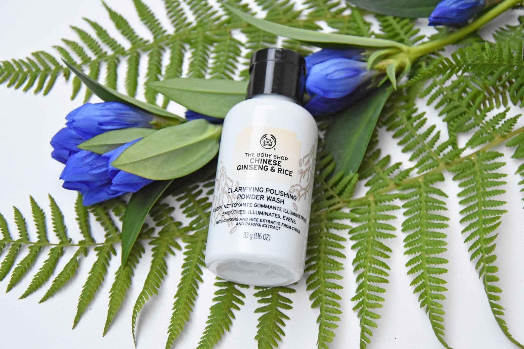 The Body Shop - Chinese Ginseng & Rice Clarifying Powder Wash