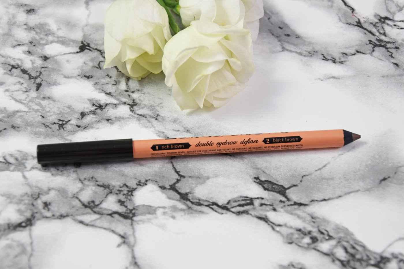 Neve Cosmetics Manga Brows Pencil - Rich Brown & Black Brown