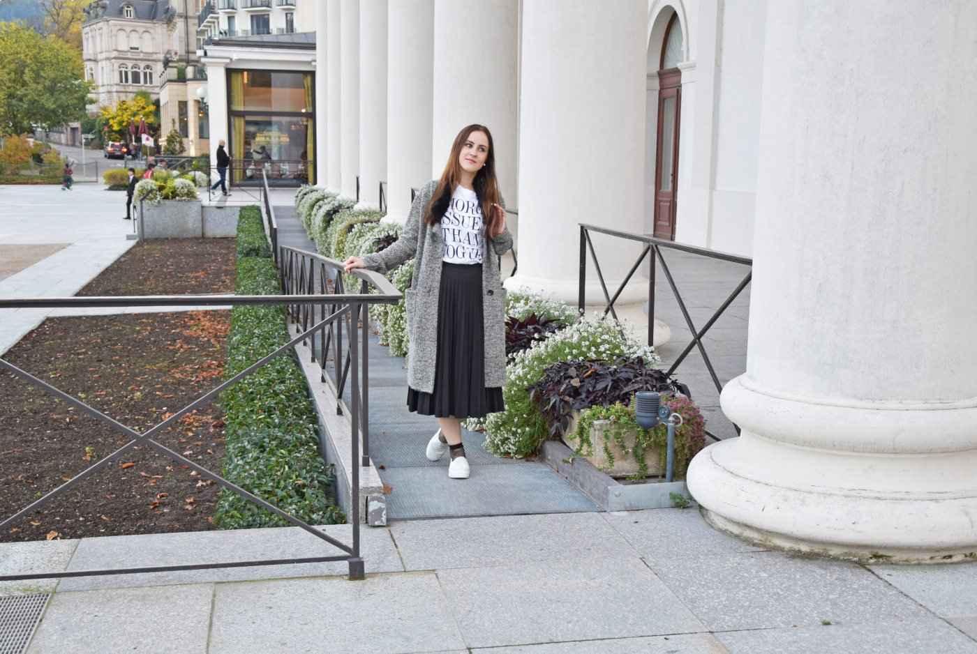 Skechers Midi Skirt Fishnet Look Fashion Fashionblogger Outfit