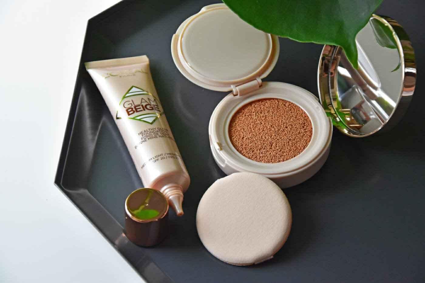 L'Oréal - Glam Beige Healthy Glow Foundation & Cushion