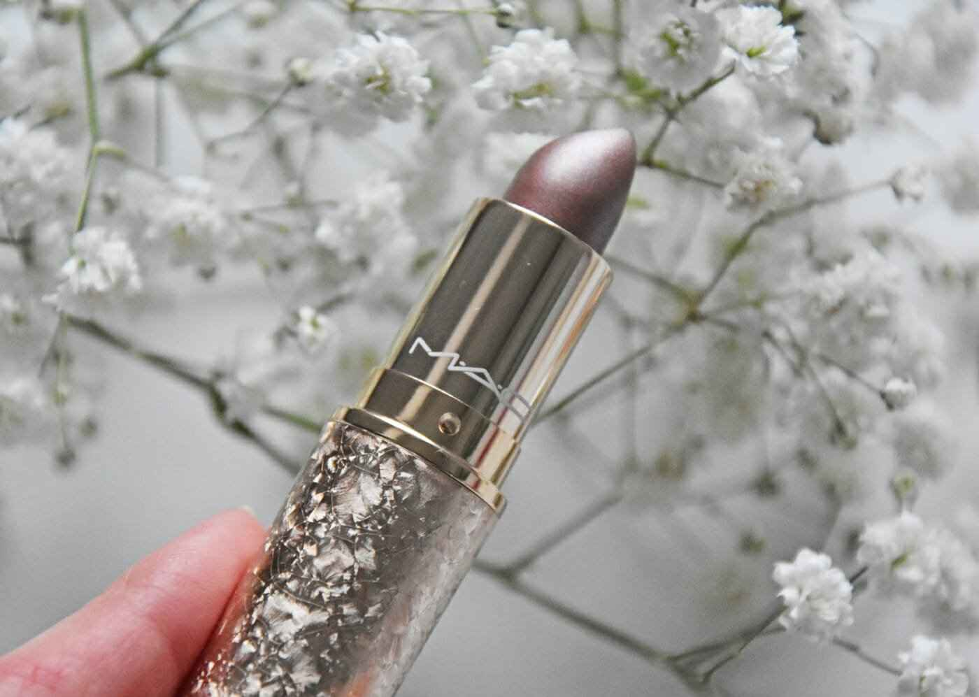 Makeup Lipstick MAC Snowball