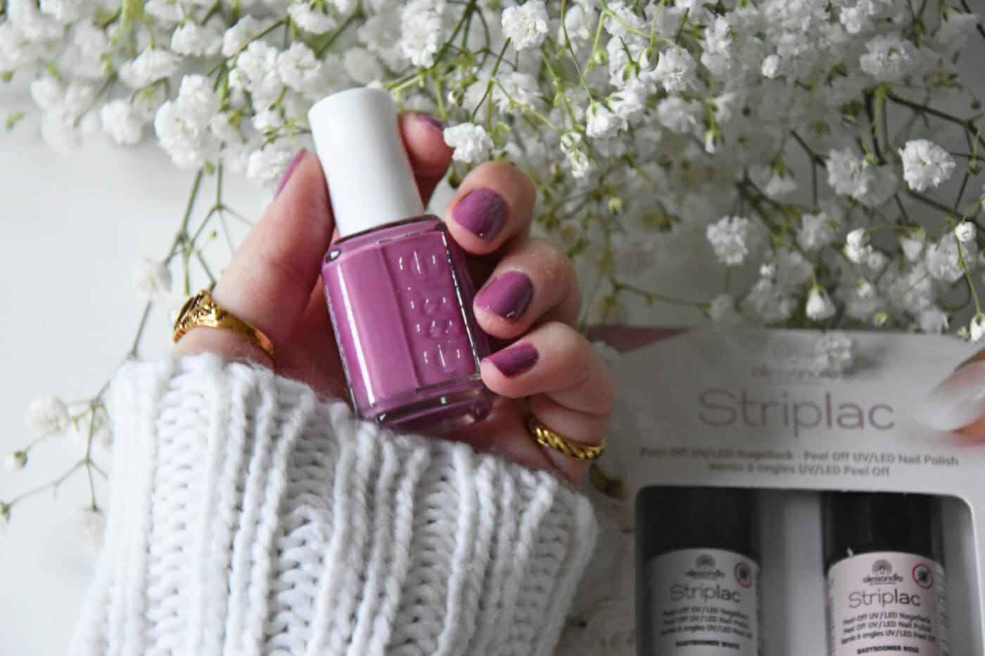 Essie Striplac nail nailpolish