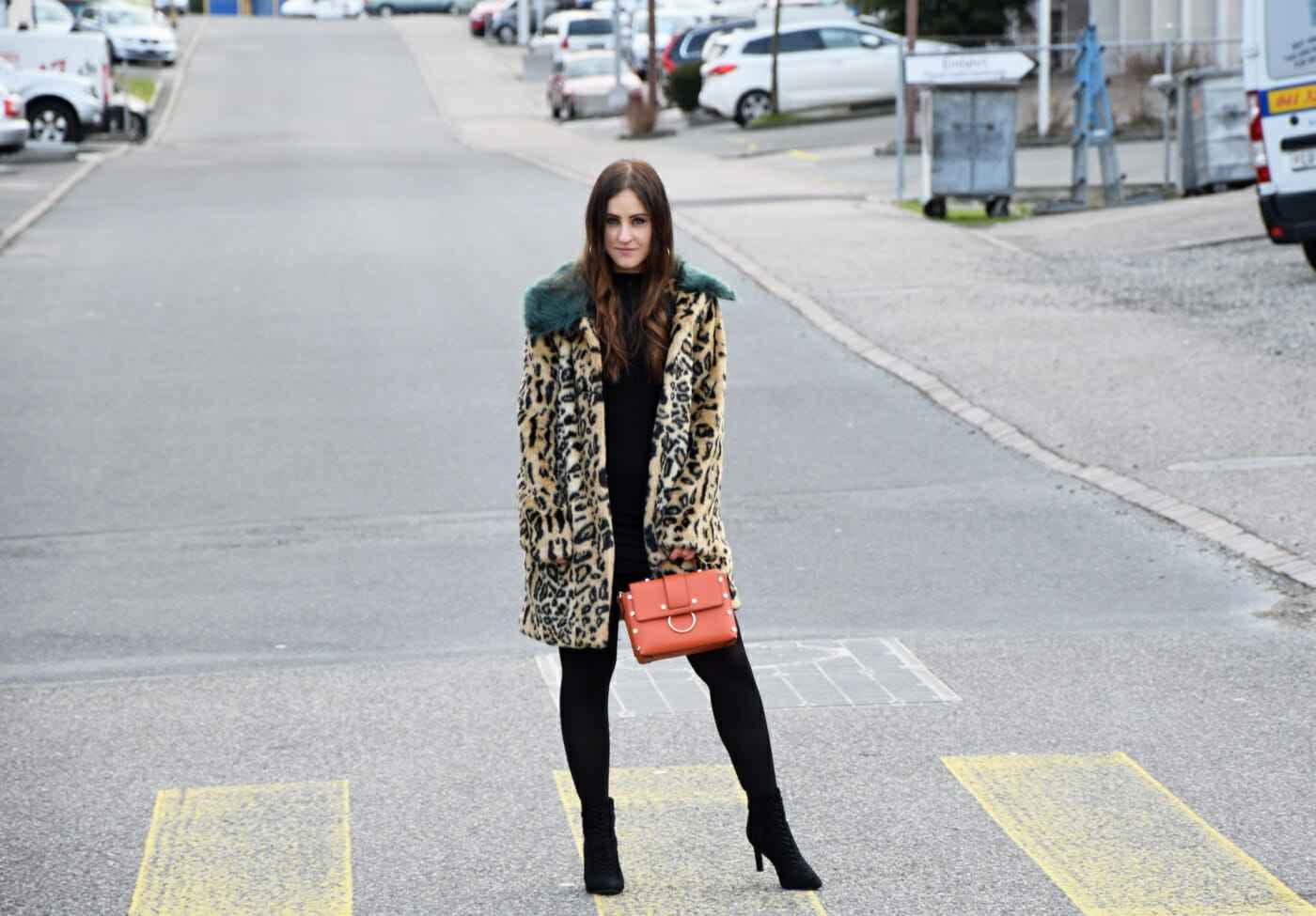 Animal Print Leopard coat look fashionblogger