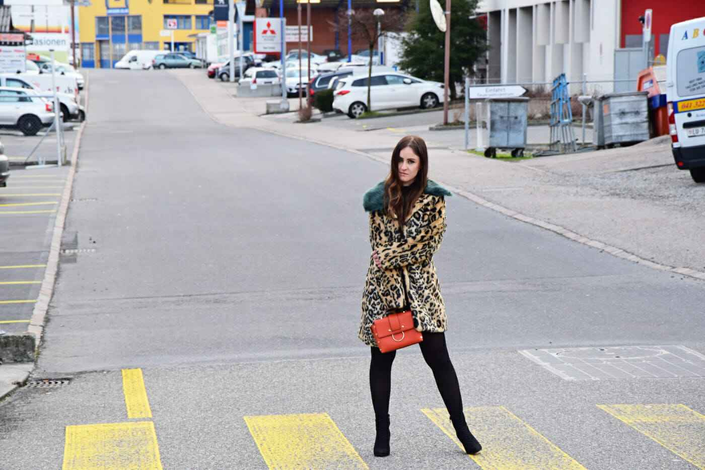 Animal Print Leopard coat look fashionblogger