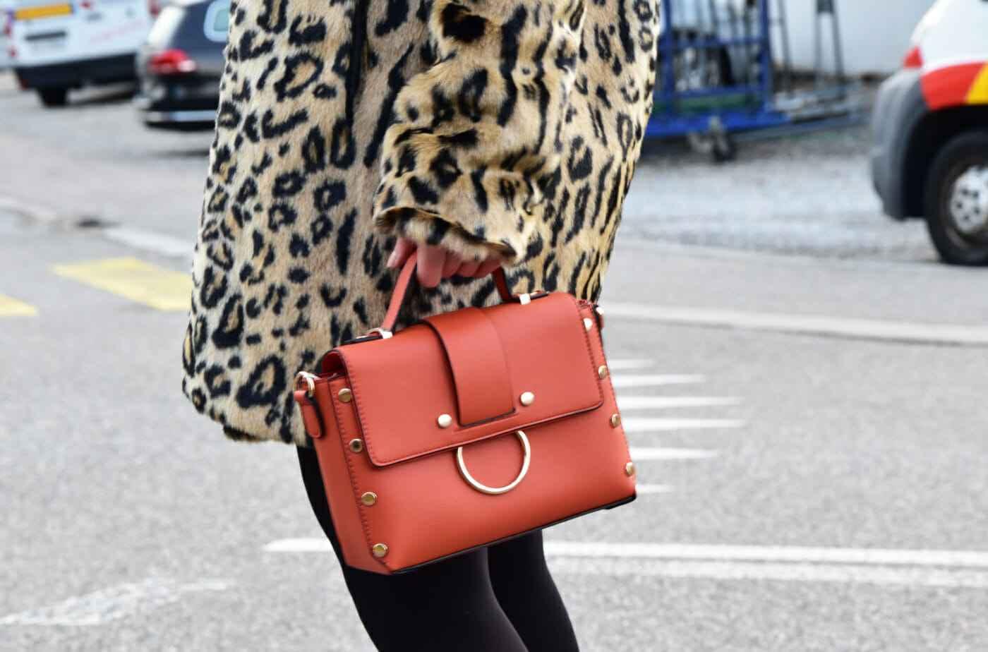 orange trend bag