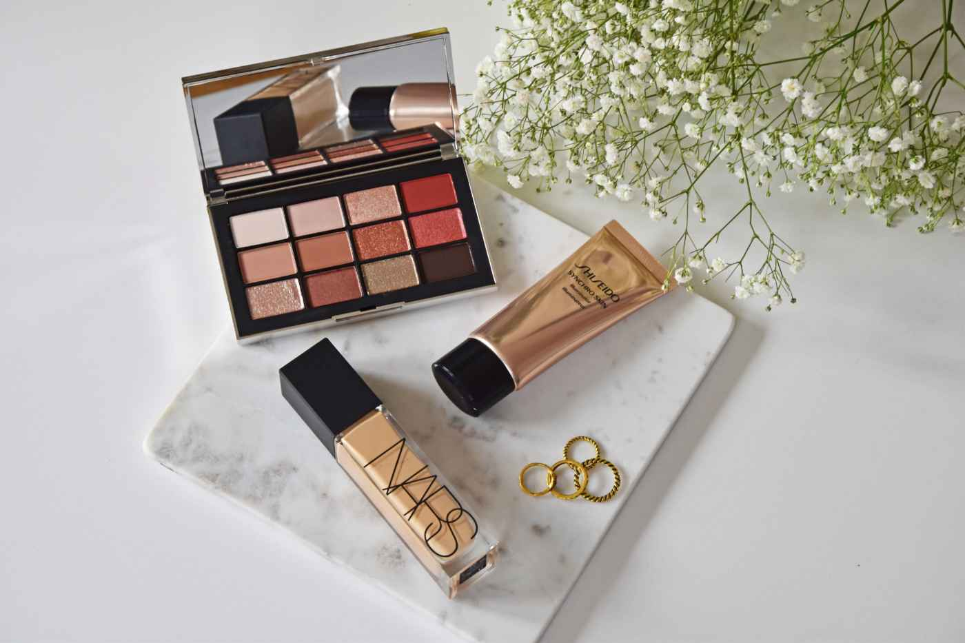 NARS Shiseido Makeup News