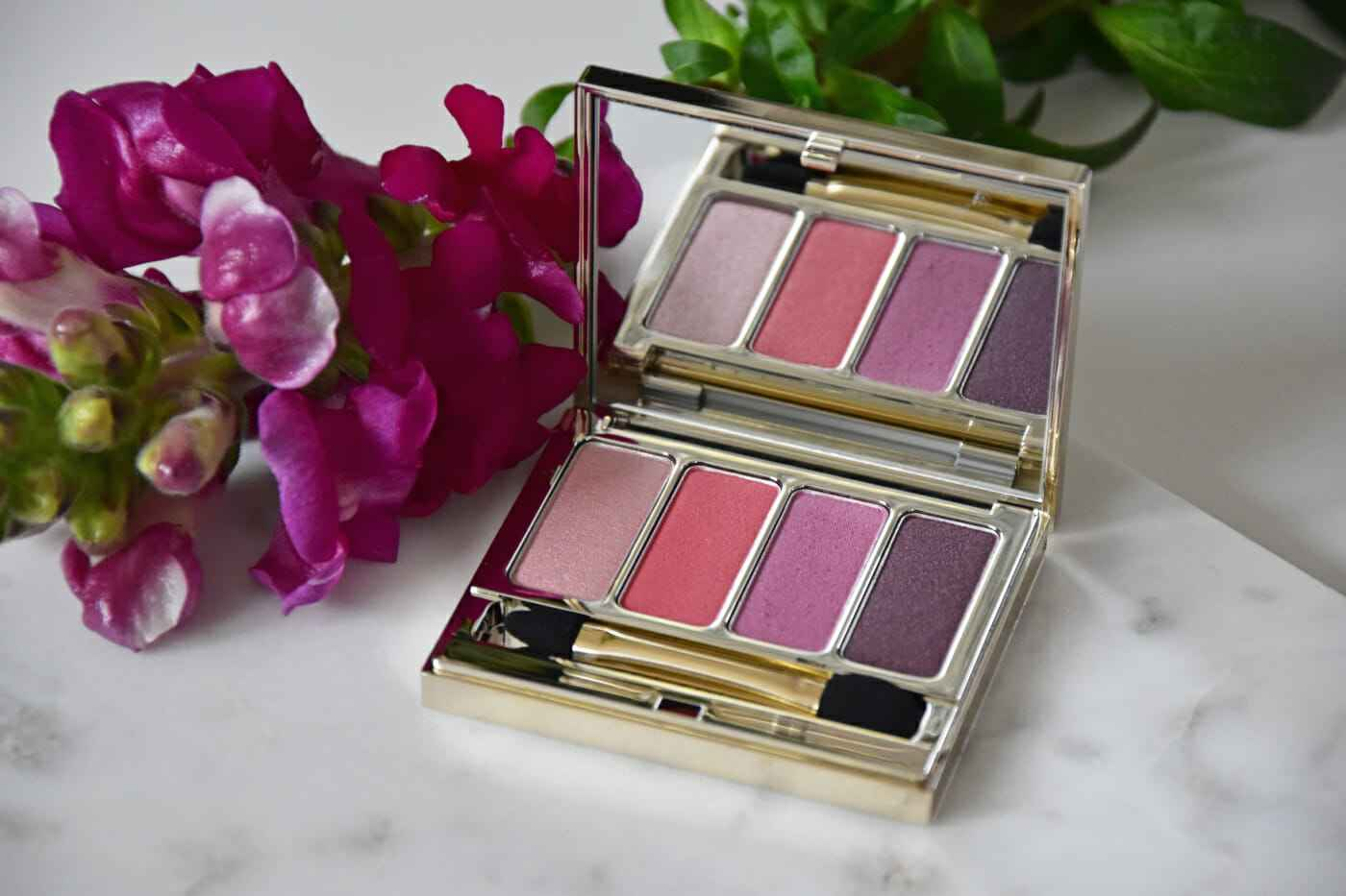 clarins palette 4 couleurs lovely rose