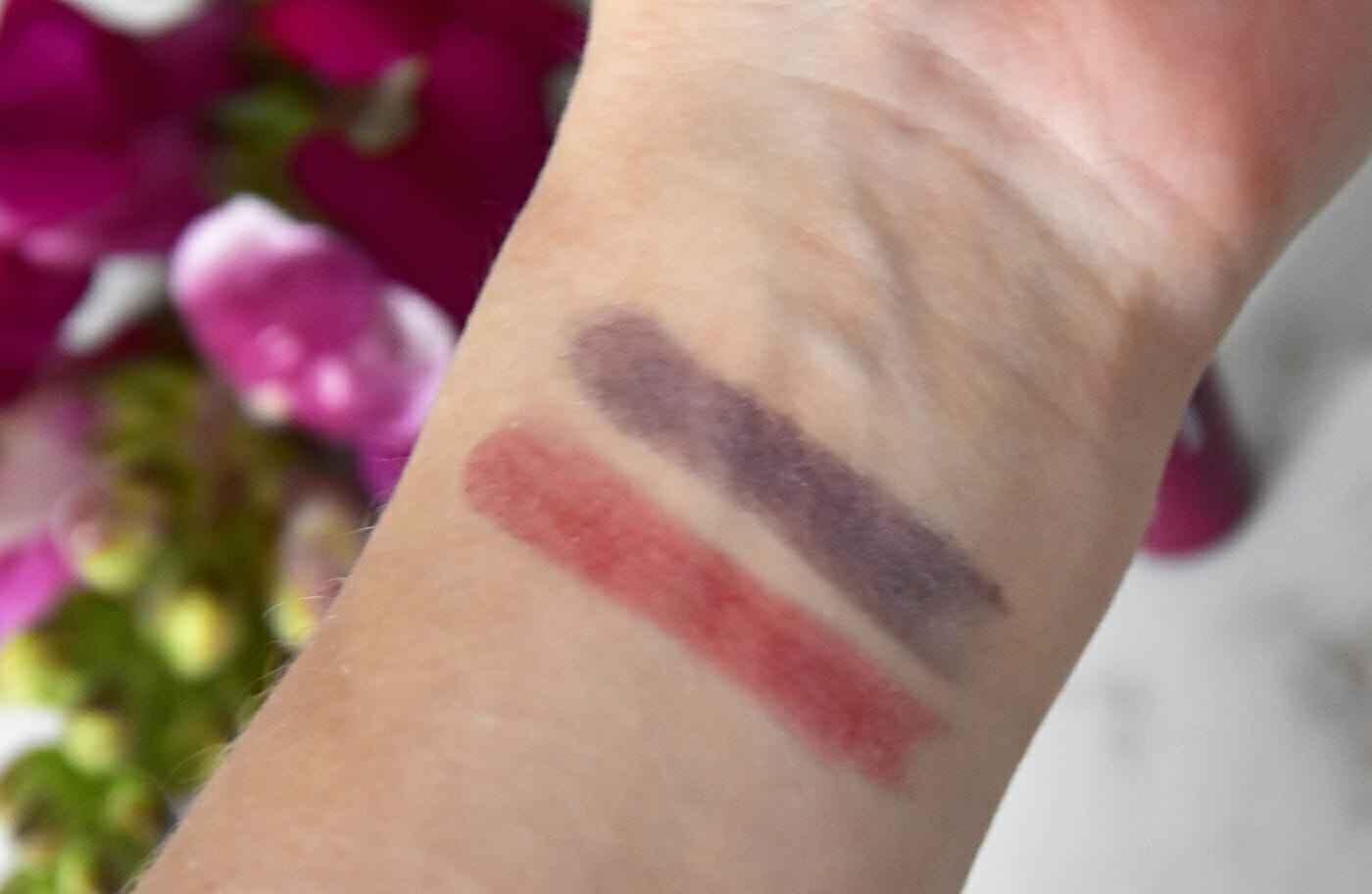 lippenstift swatches