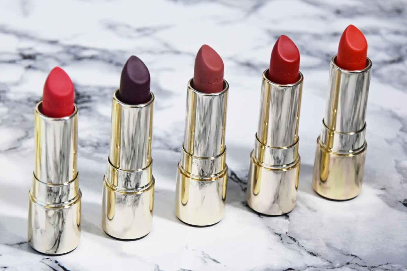 Clarins Joli Rouge Velvet Lippenstift