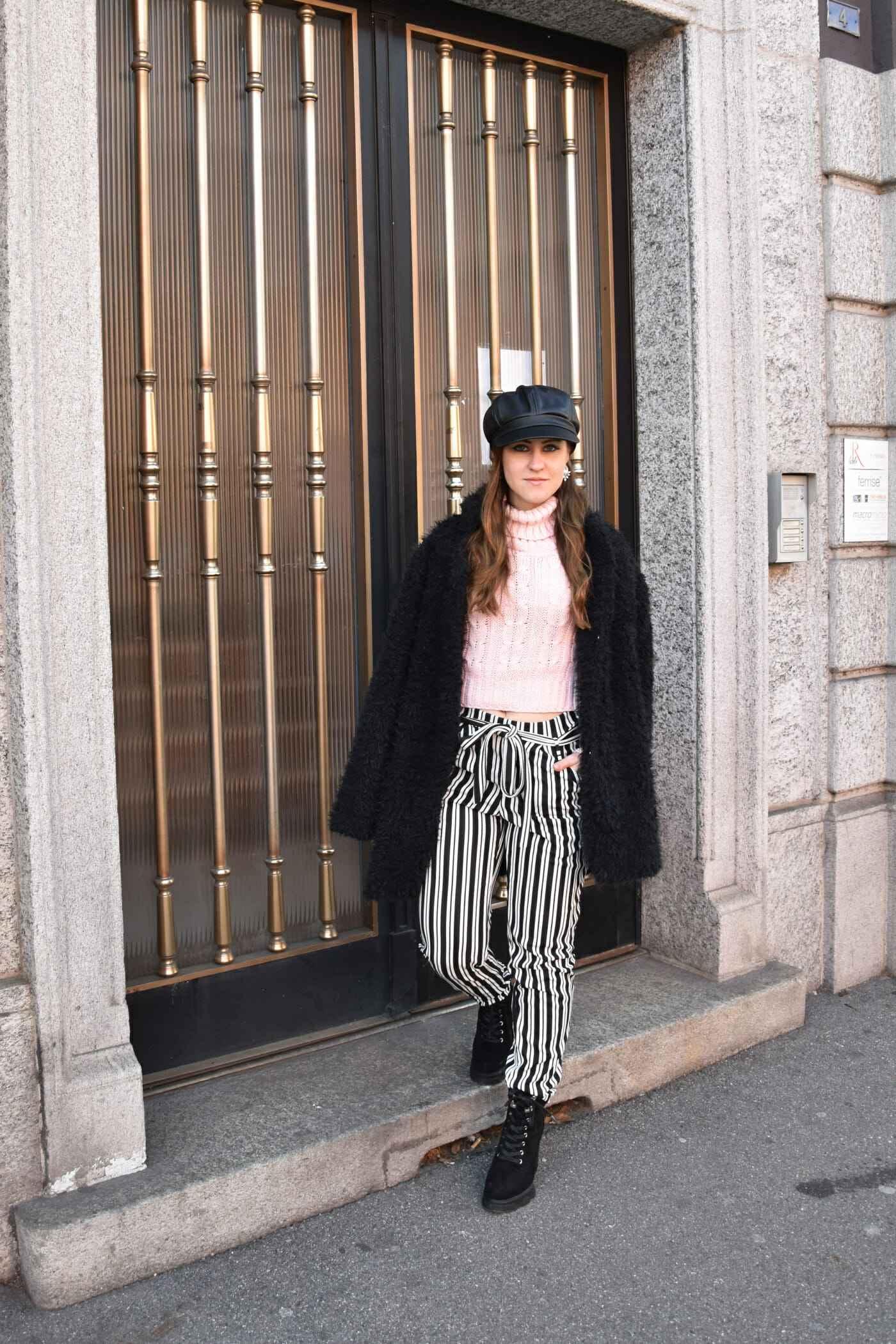Look striped pants