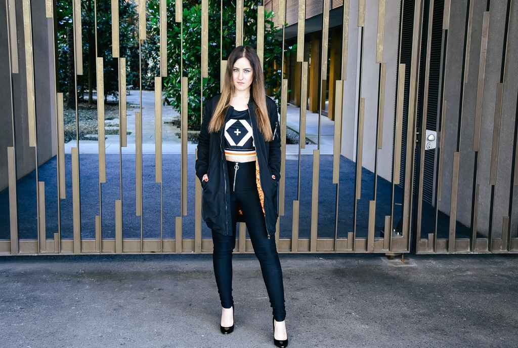 Kendall + Kylie for OVS Sport Look Fashionblogger Outfit sexy