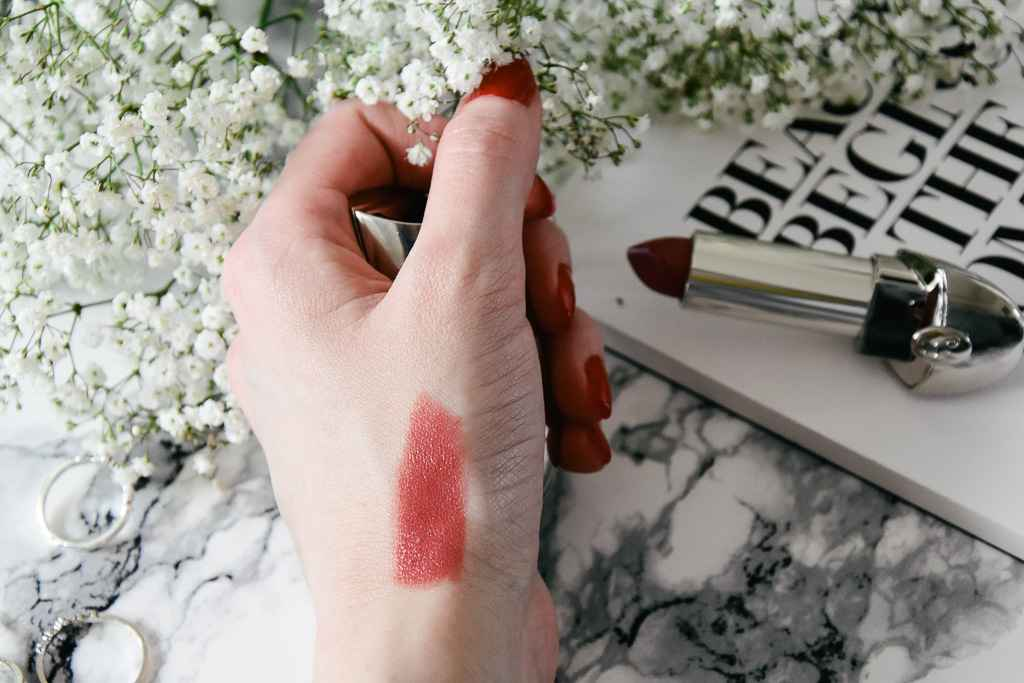 Clinique even better glow Guerlain Rouge G Costumized Lipstick