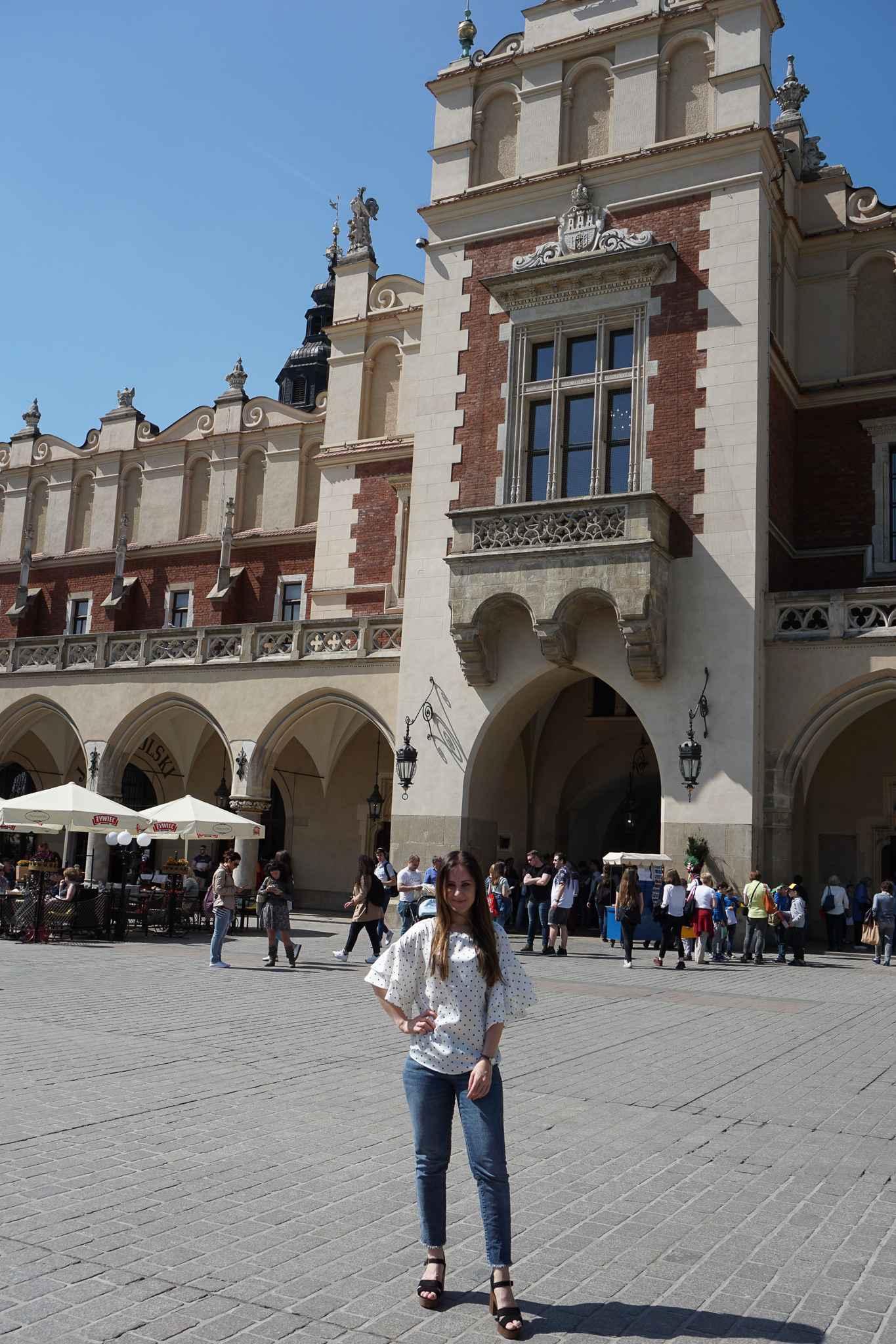 «Rynek Główny», der mit 40 000 Quadratmetern grösste mittelalterliche Marktplatz Europas