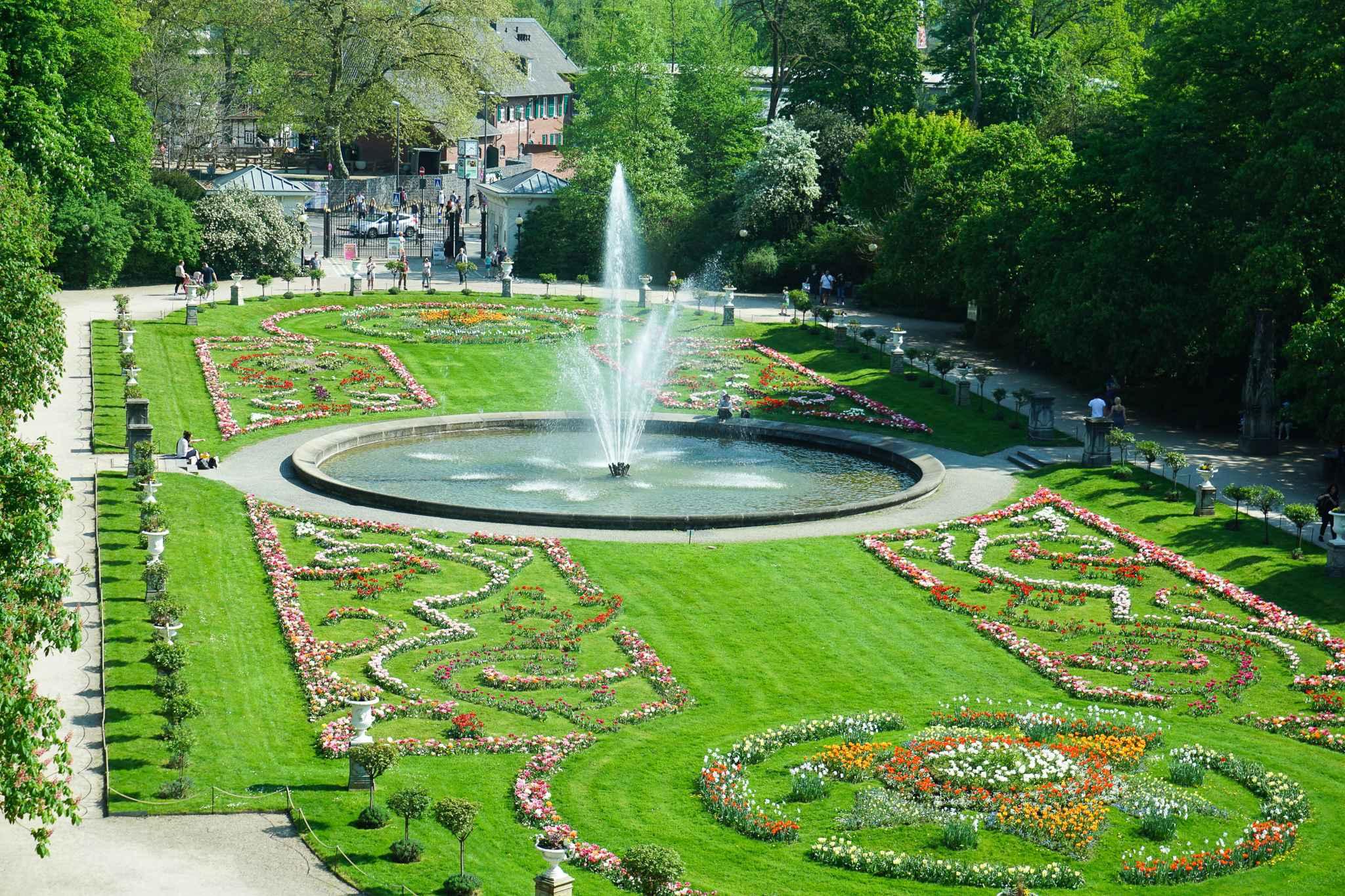 Flora Köln Aussicht Garten