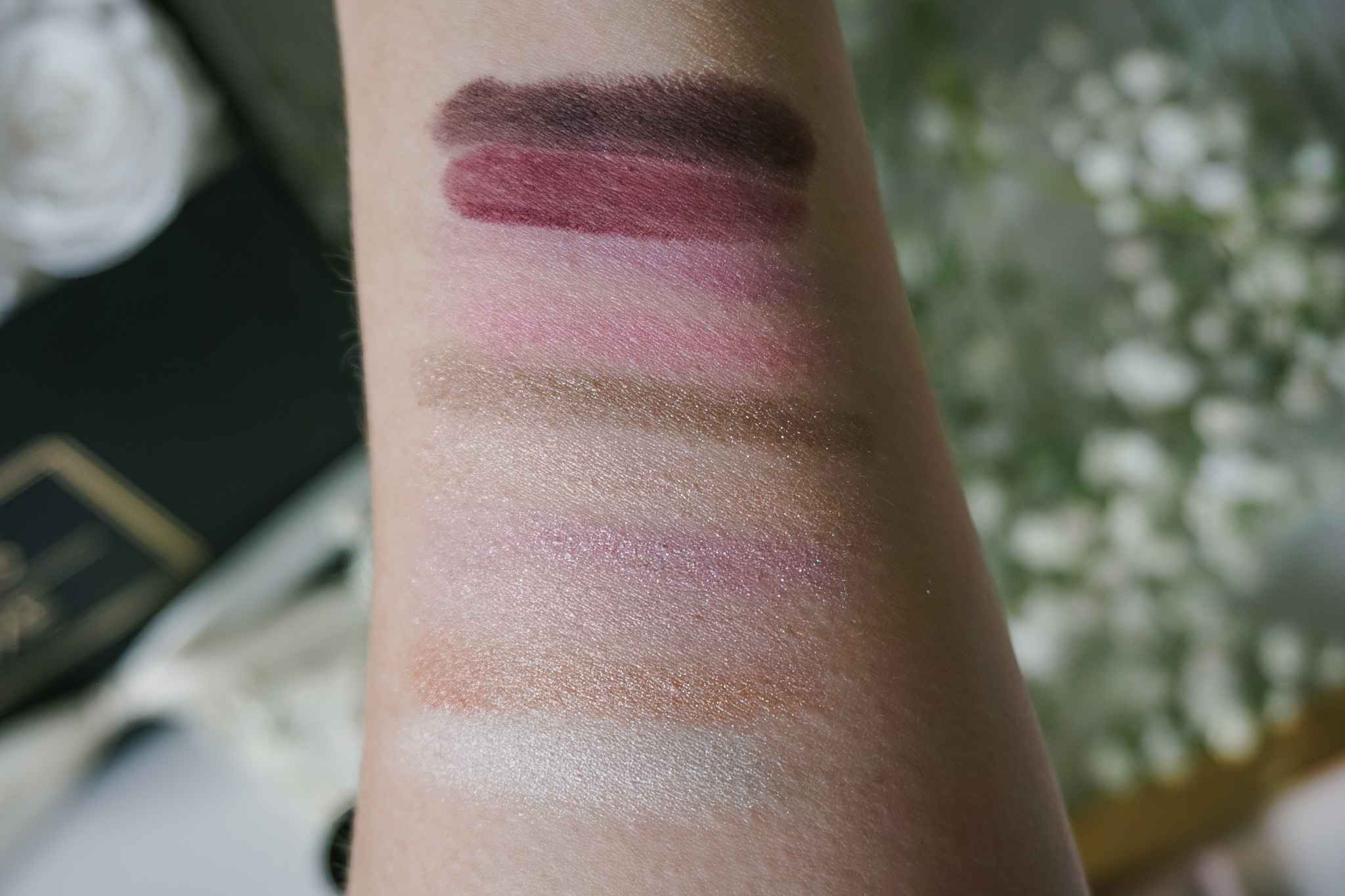 Collistar Libera Eye Shadow Palette Swatches