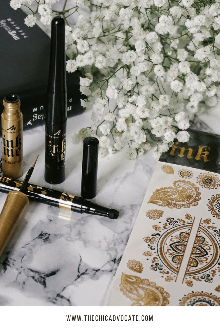 manhattan ink me collection sephora makeup review
