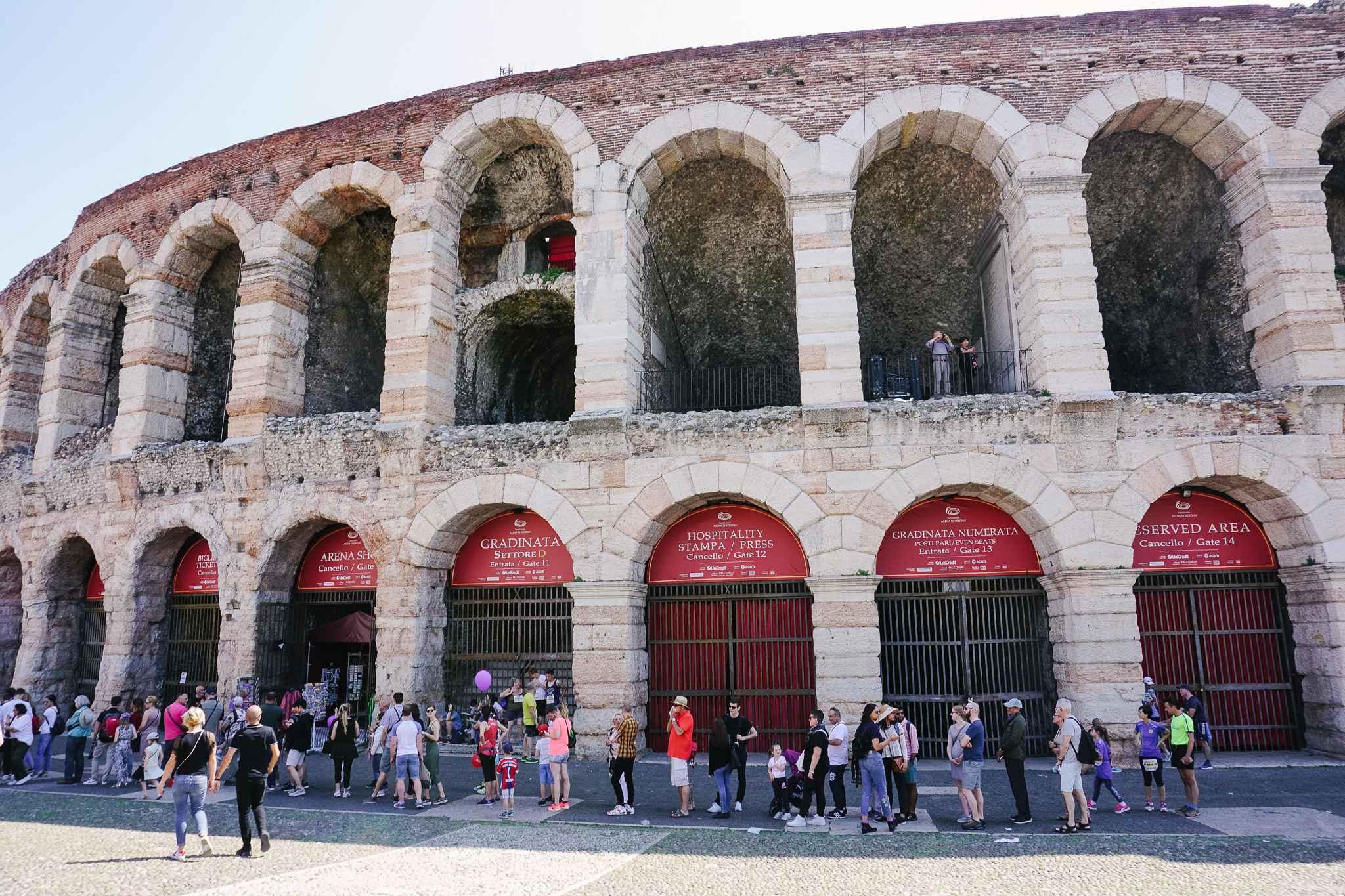 arena Verona Italy travel