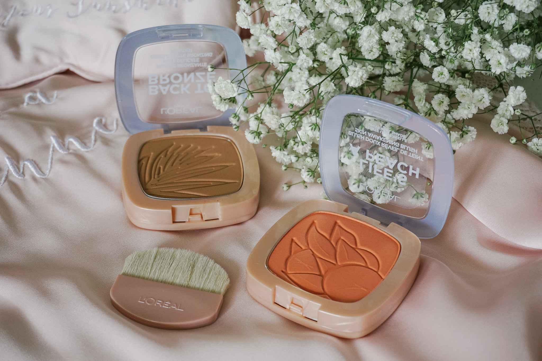 LIFE'S A PEACH BLUSH BACK TO BRONZE GENTLE MATTE BRONZING POWDER L'Oreal Review