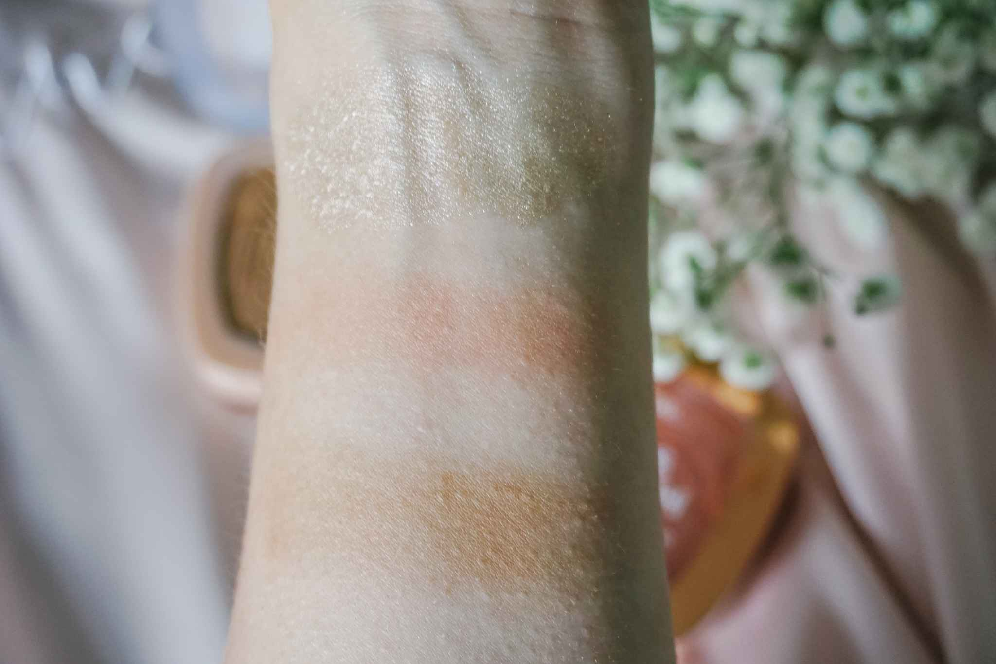 Swatches glow collection L'Oréal